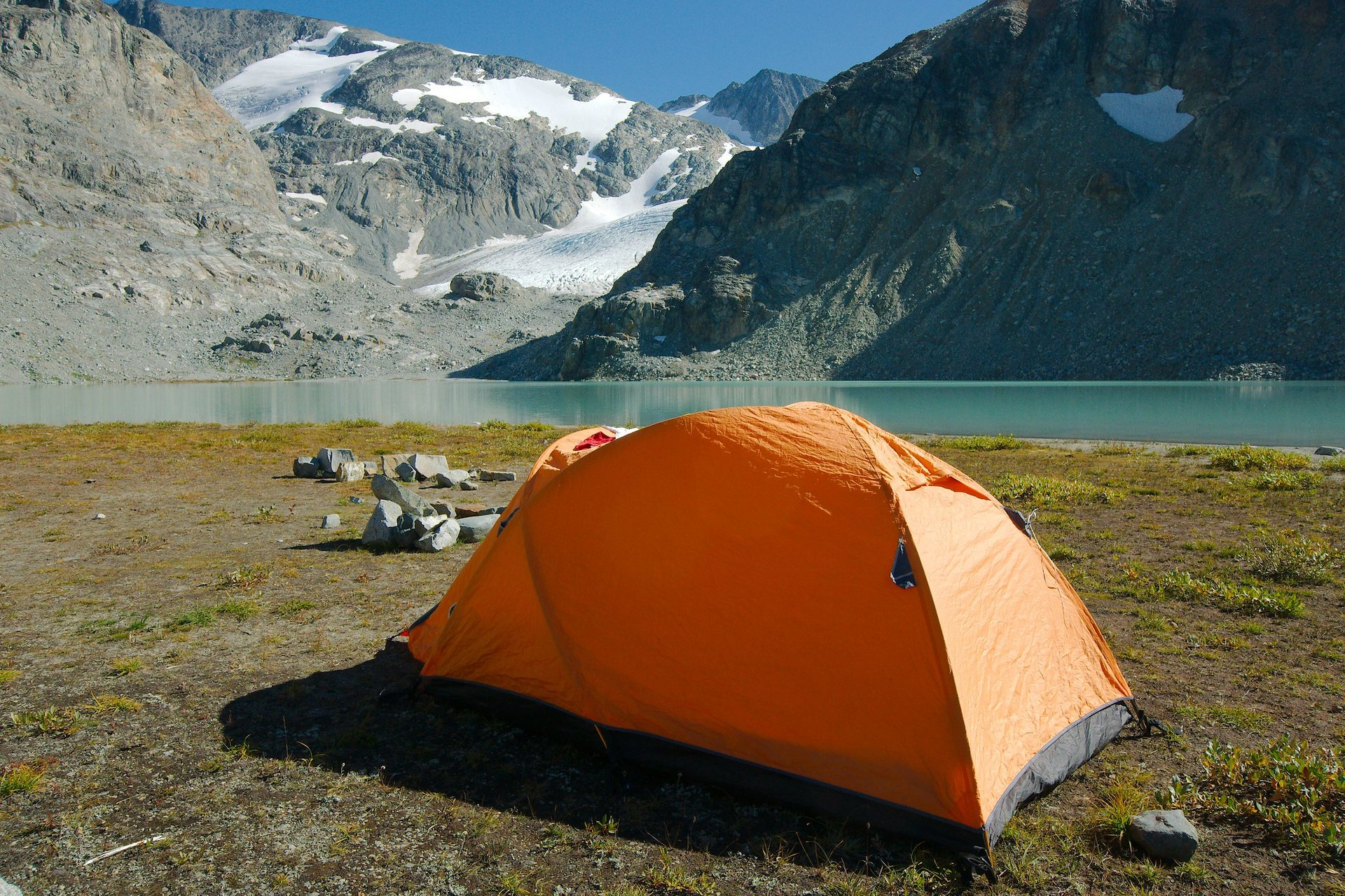 Best time to see Wedgemount Lake in British Columbia 2020