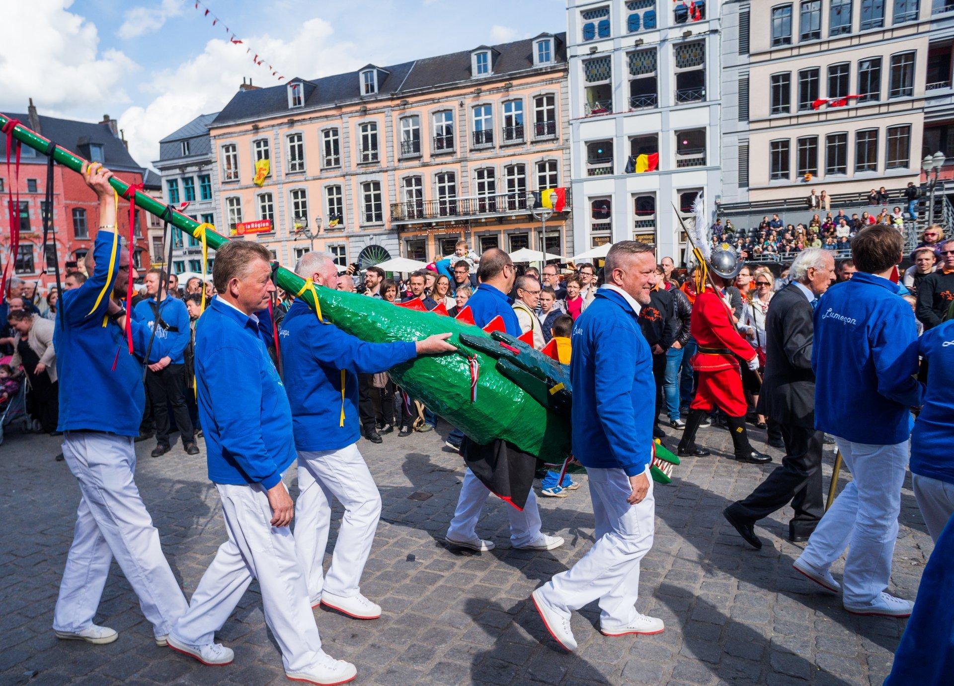 Best time for Ducasse de Mons (Doudou) in Belgium 2020