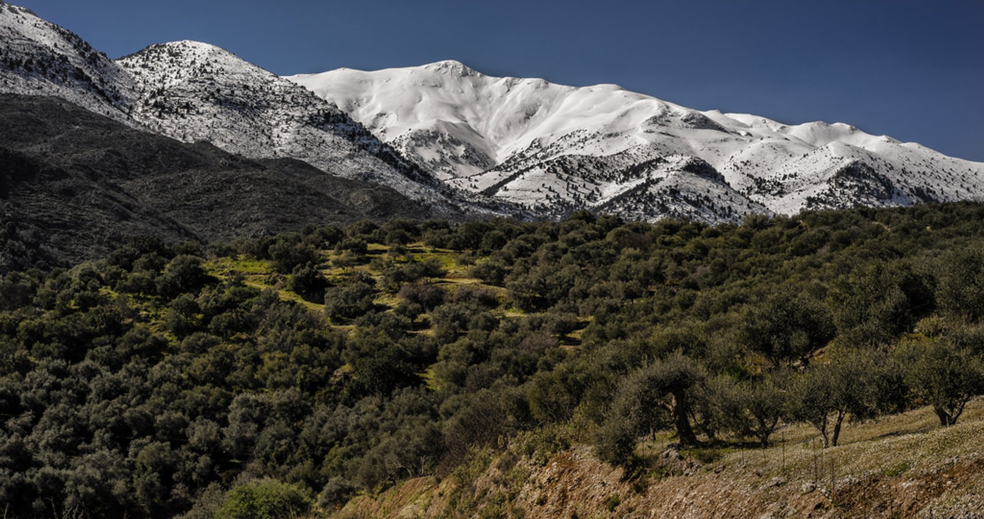 Lefka Ori Hike (The White Mountains) in Crete - Best Season 2020