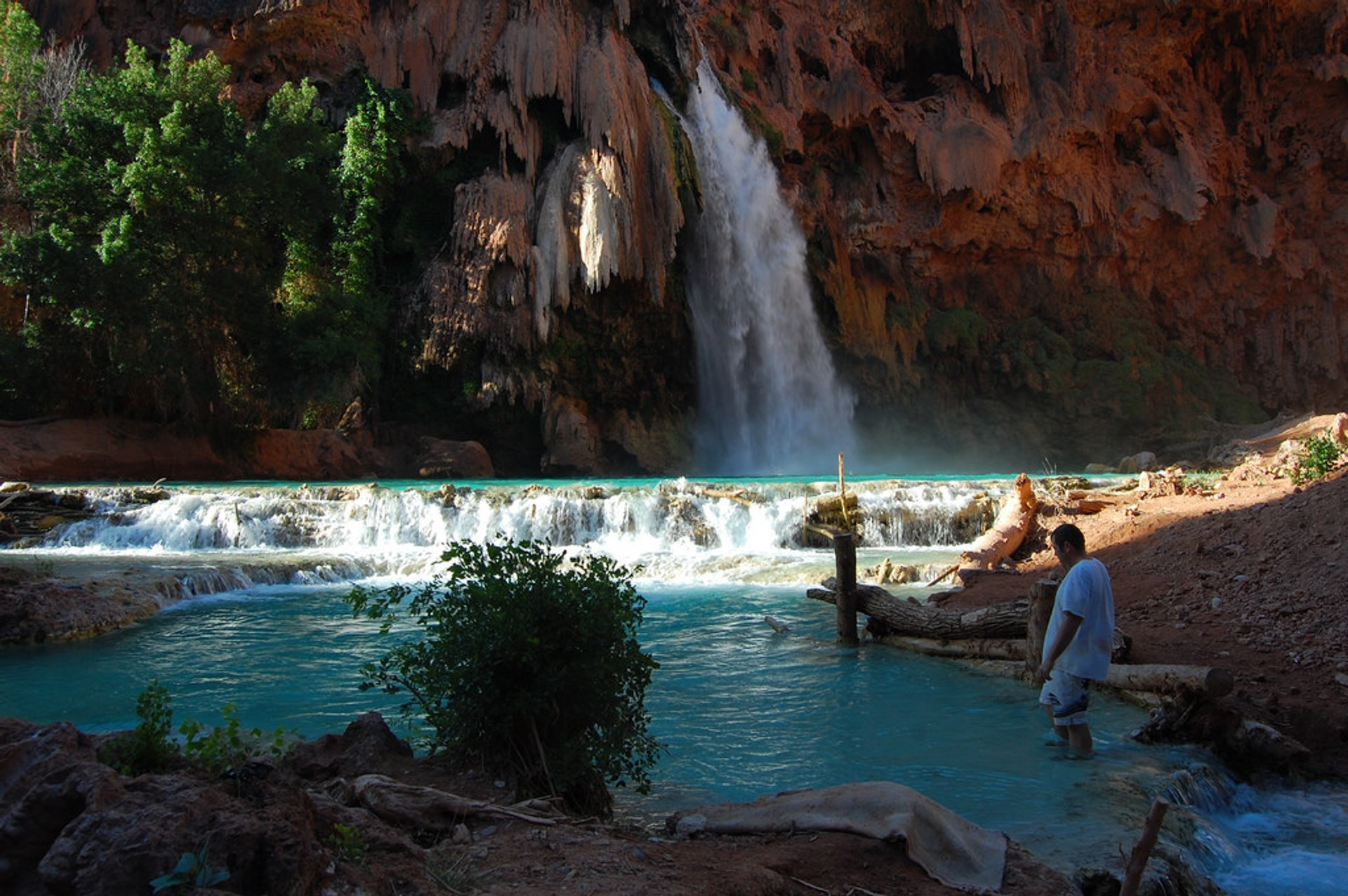 Best time for Havasu & Navajo Falls in Arizona 2020