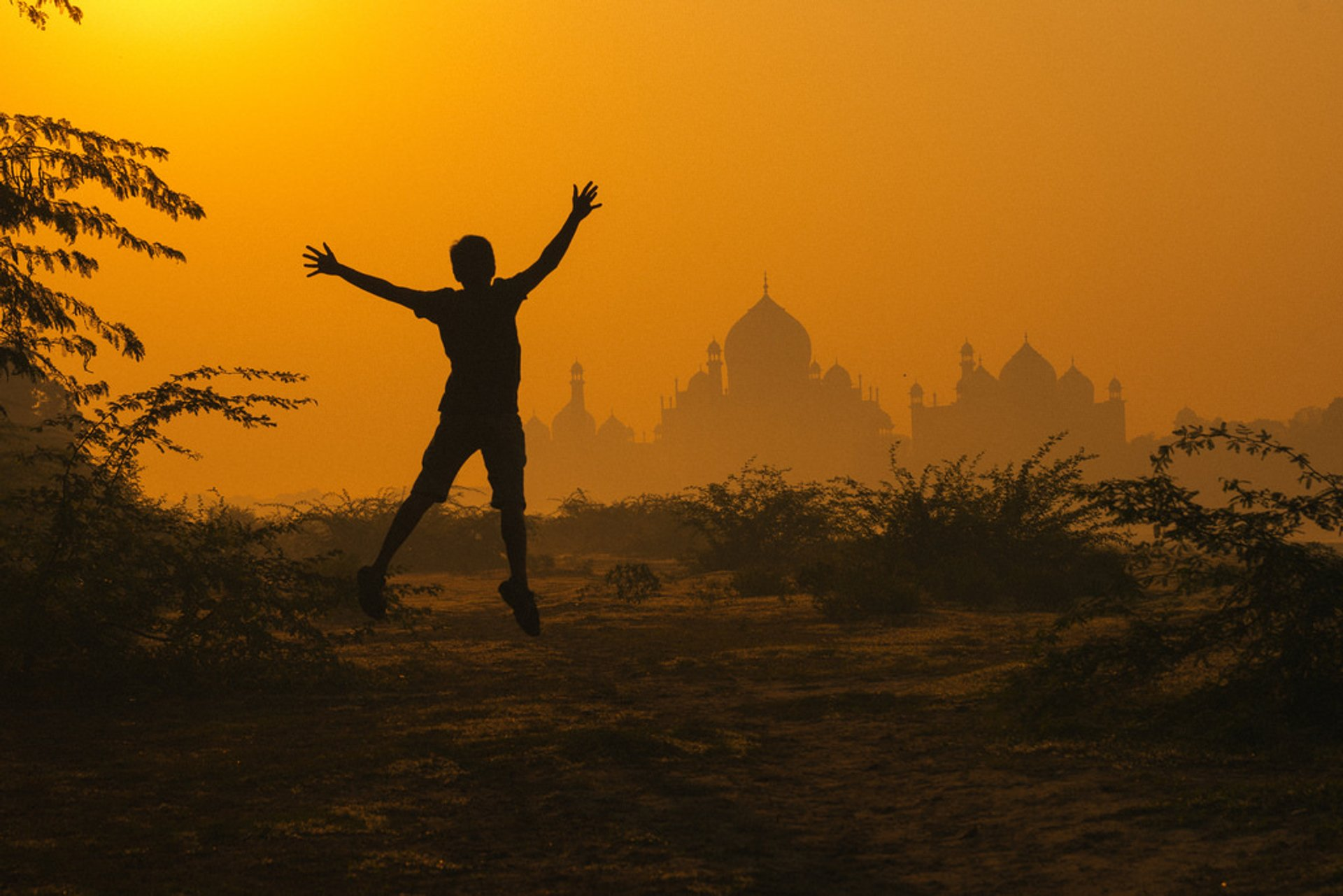 Best time to see Sunrise and Sunset near Taj Mahal in Taj Mahal and Agra