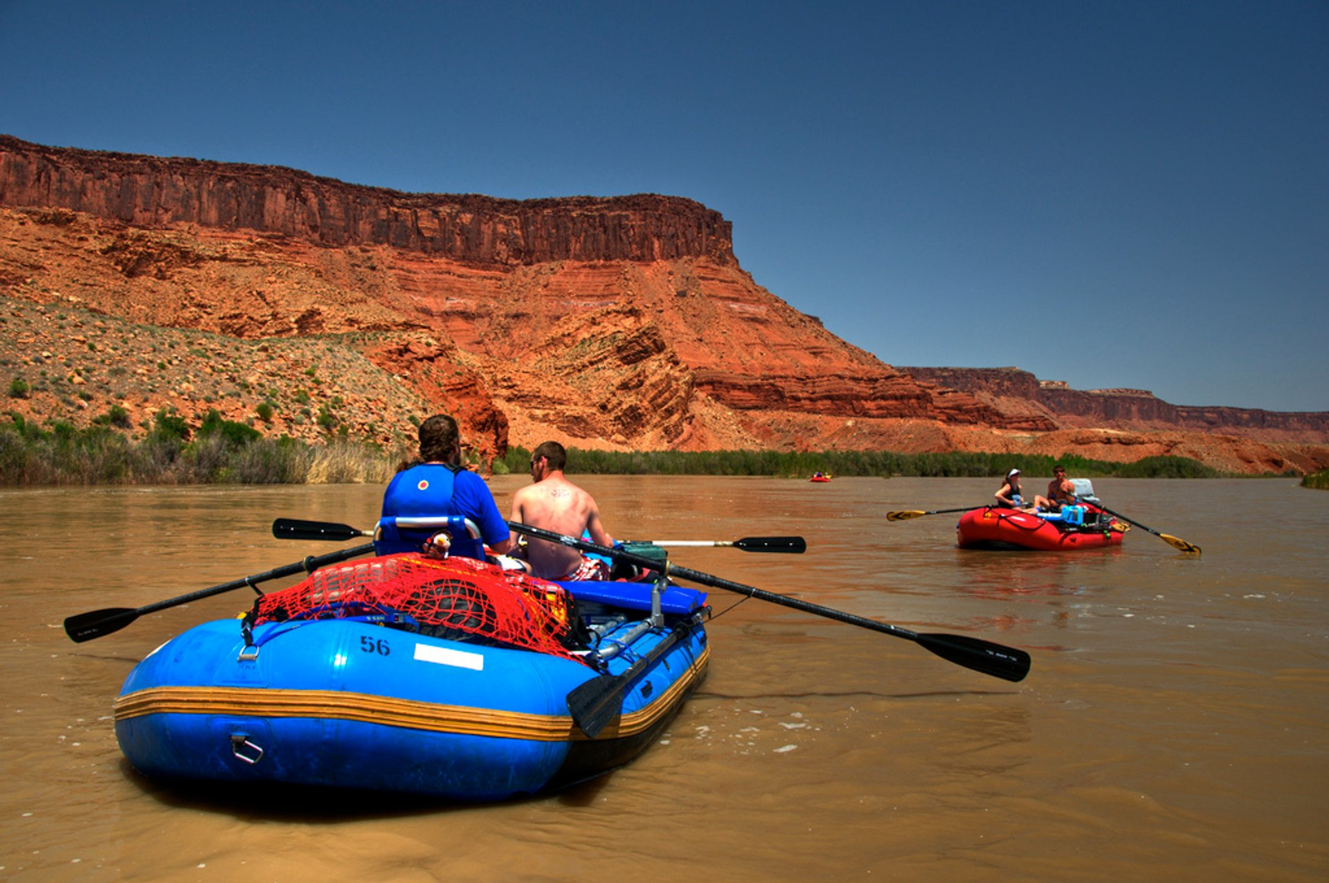 Best time for Rafting Season in Utah 2020