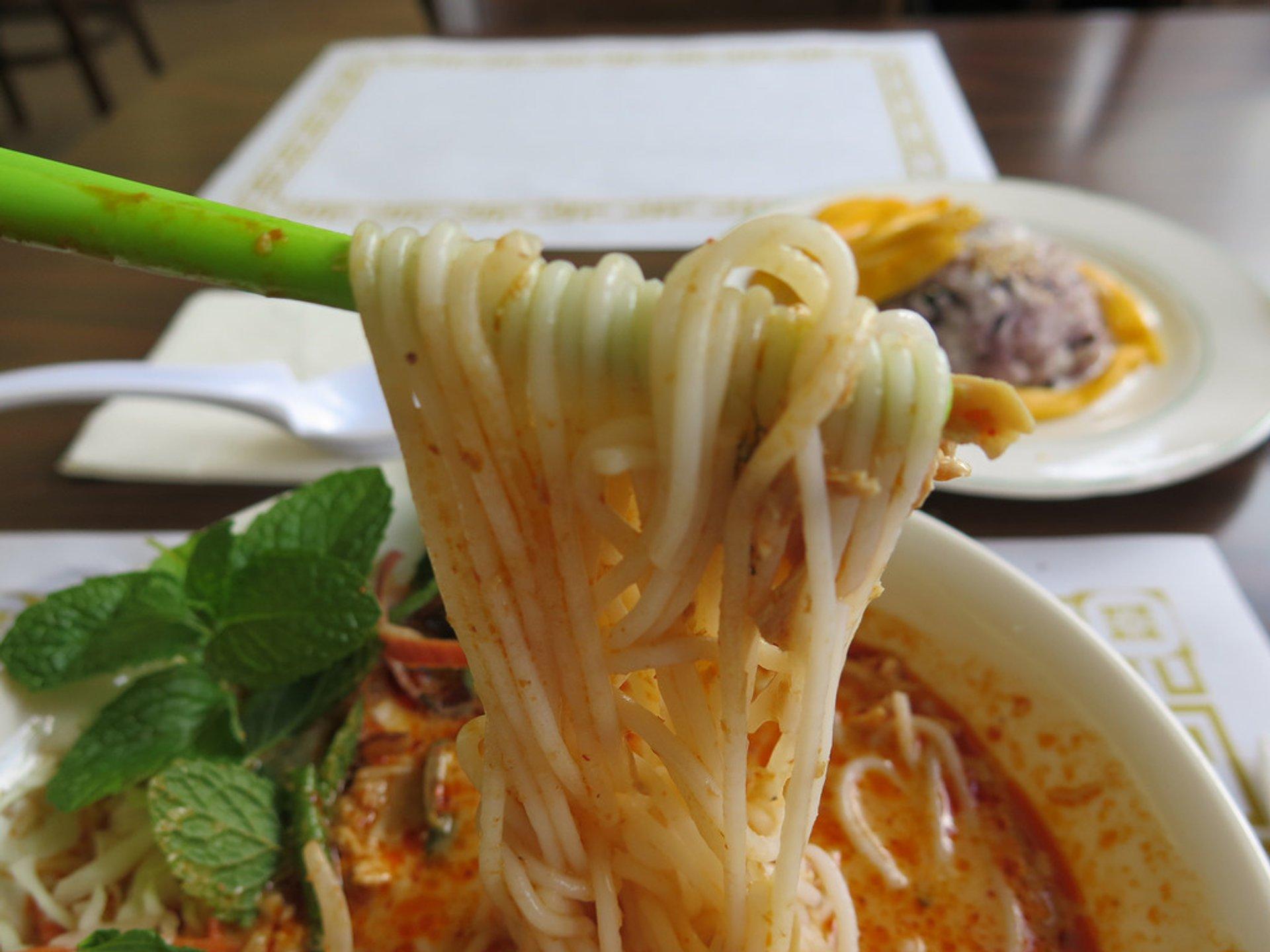 Khao Poun Soup in Laos - Best Season 2020