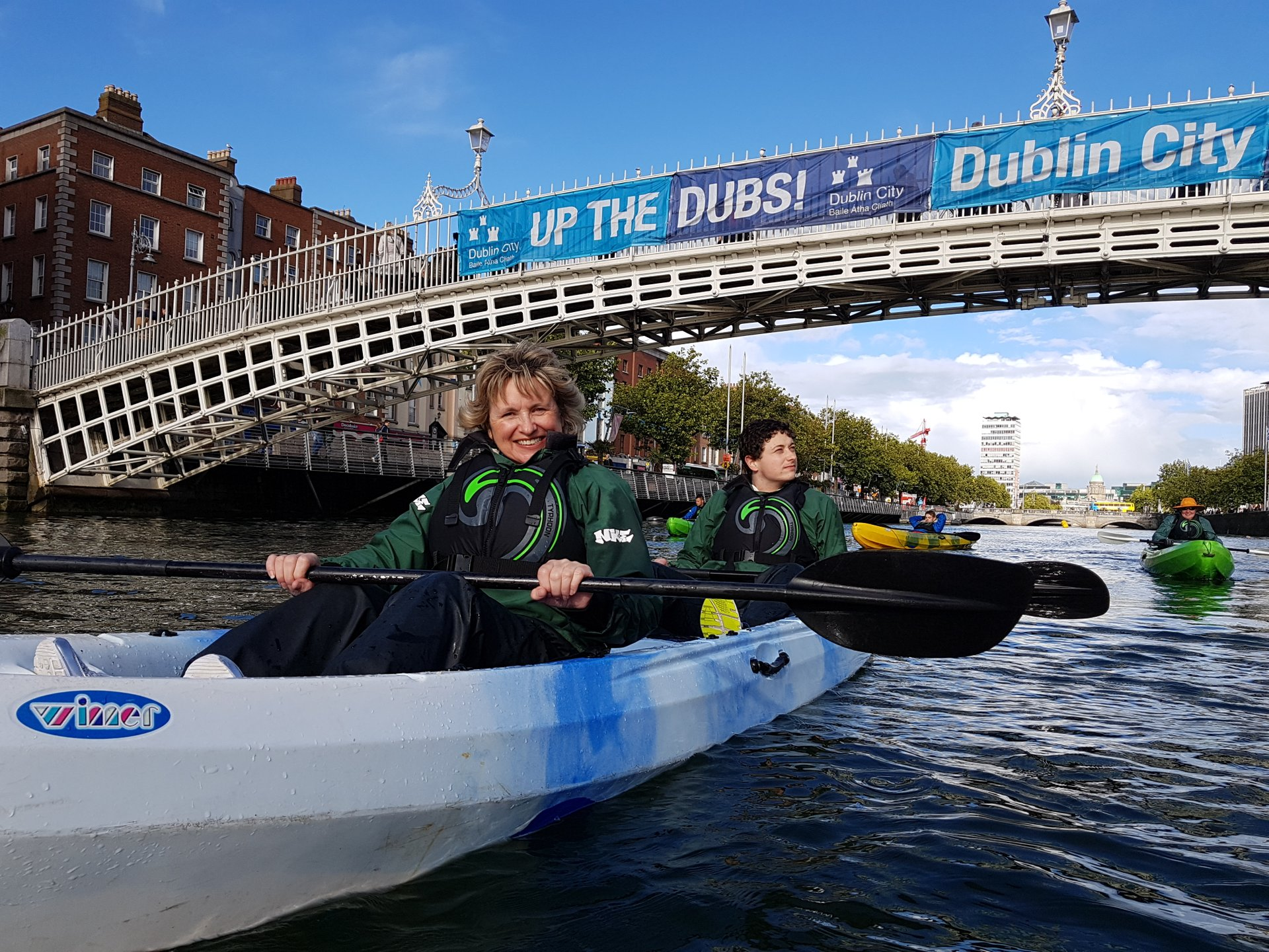 Kayaking in Dublin - Best Season 2019