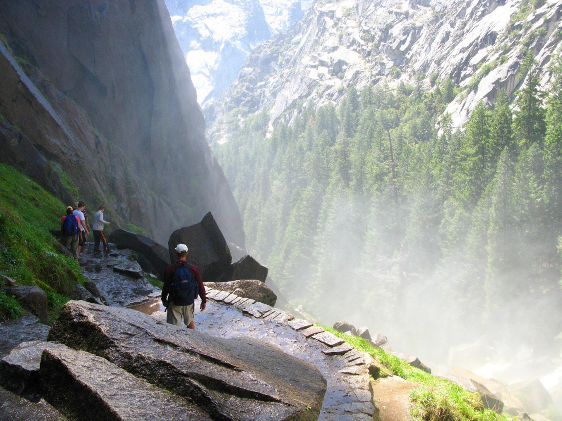 Mist Trail in Yosemite - Best Season