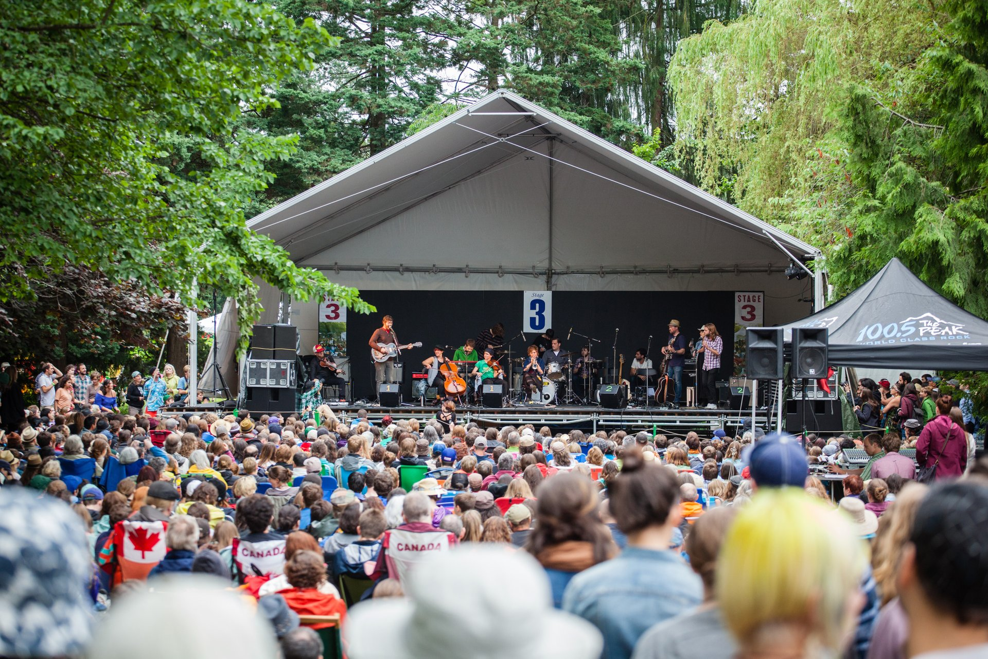 Best time to see Vancouver Folk Music Festival in Vancouver