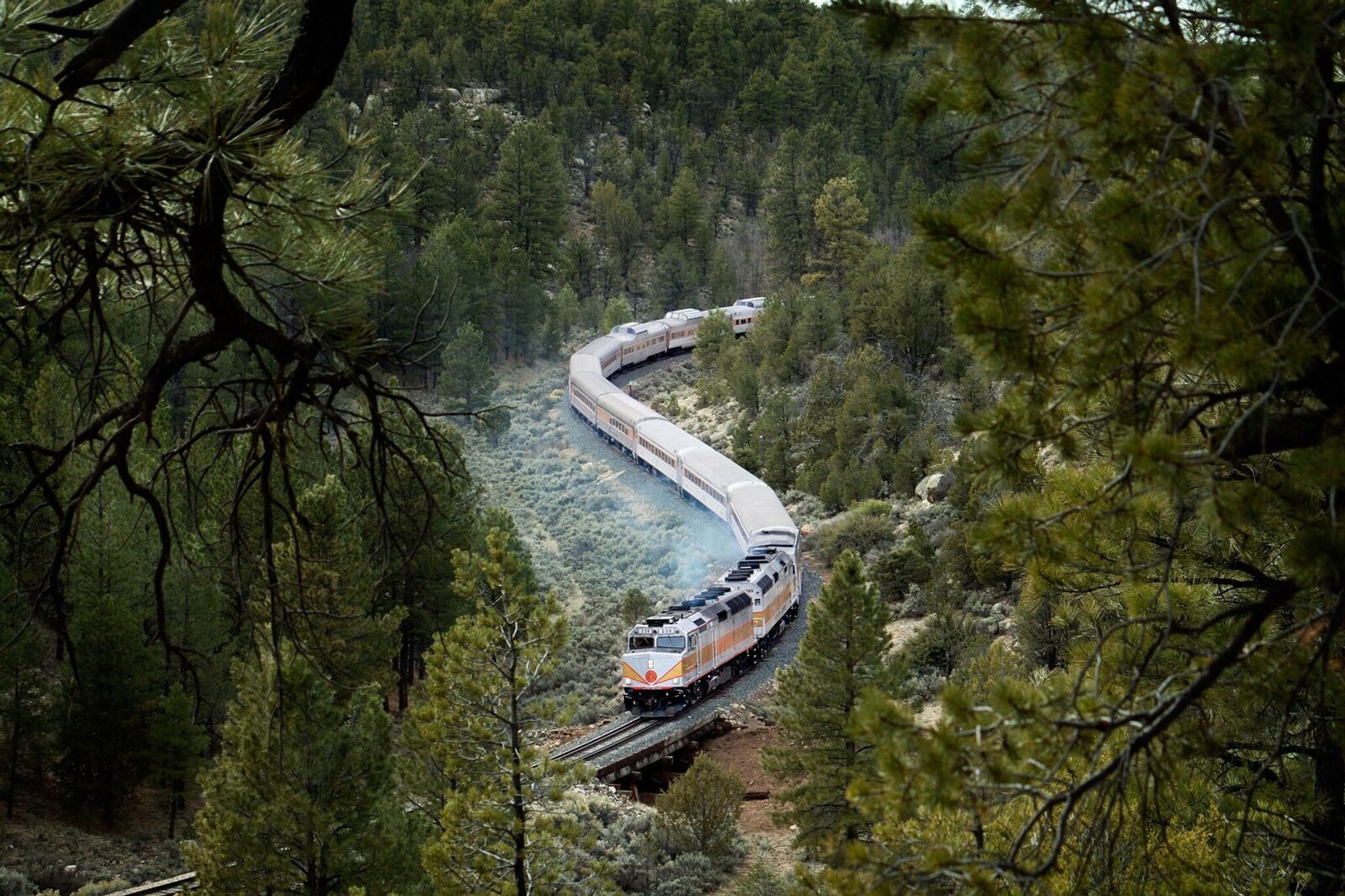 Grand Canyon Railway in Grand Canyon - Best Time