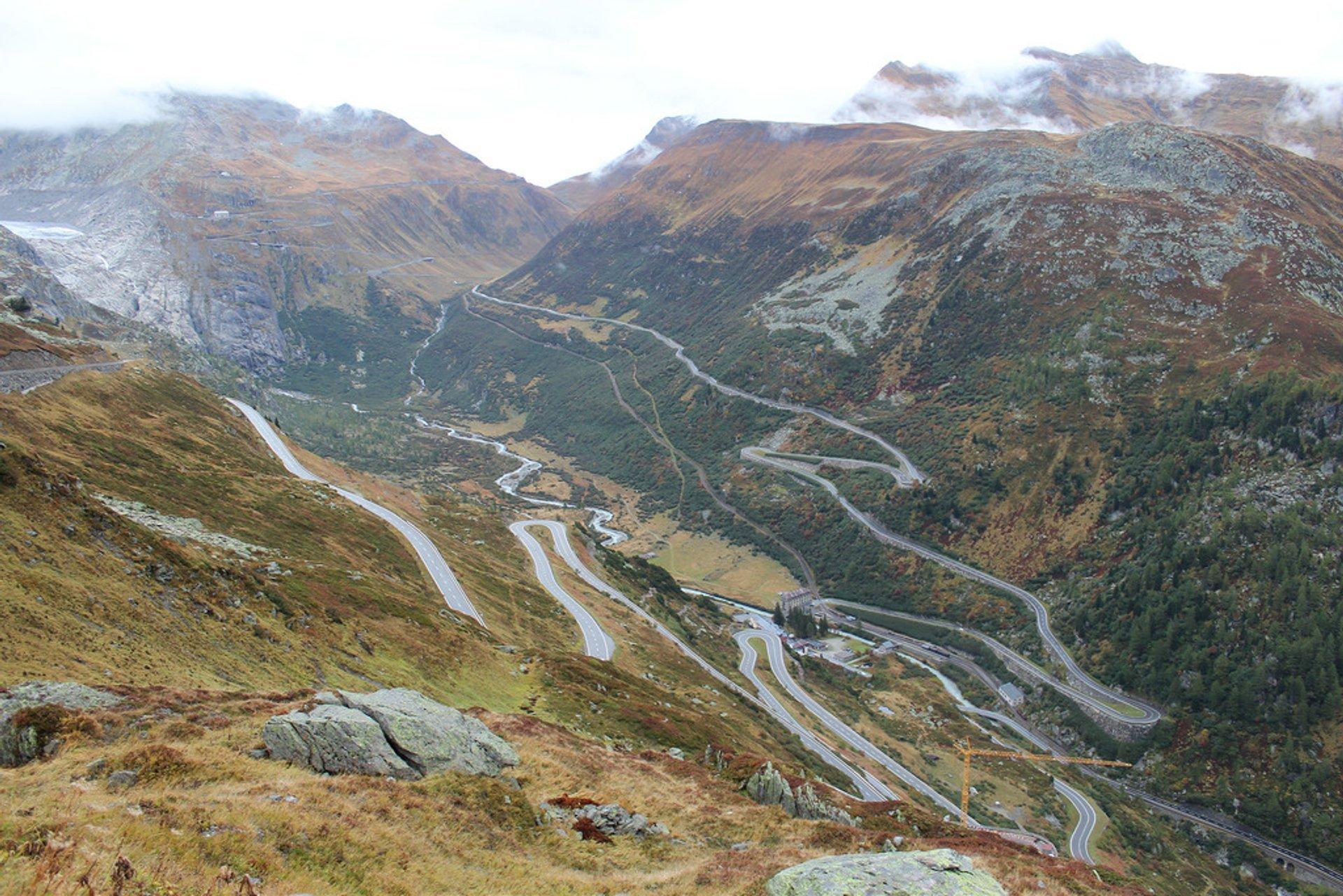 Grimsel Pass in Switzerland - Best Season 2019
