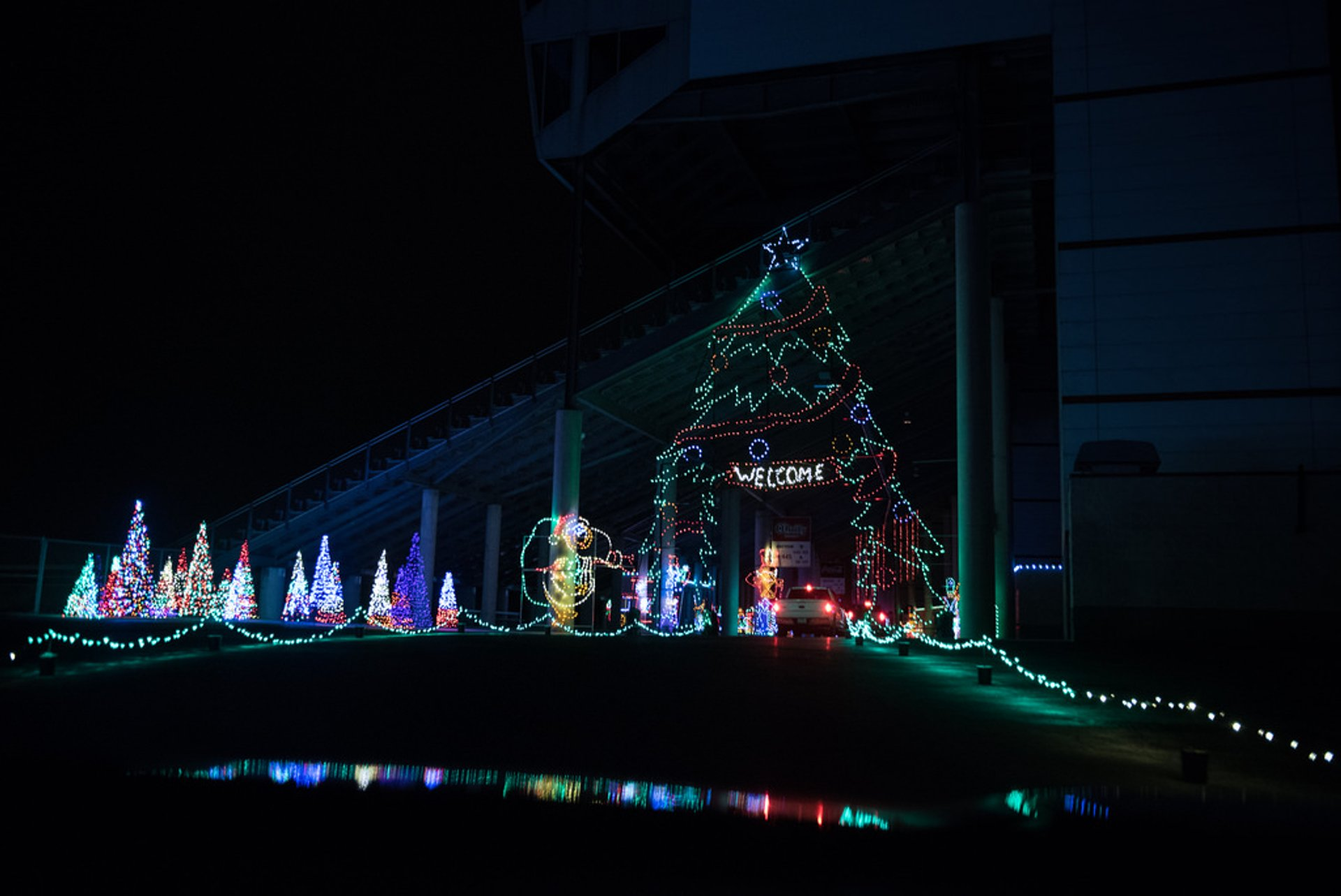 Texas Motor Speedway Gift of Lights 2020