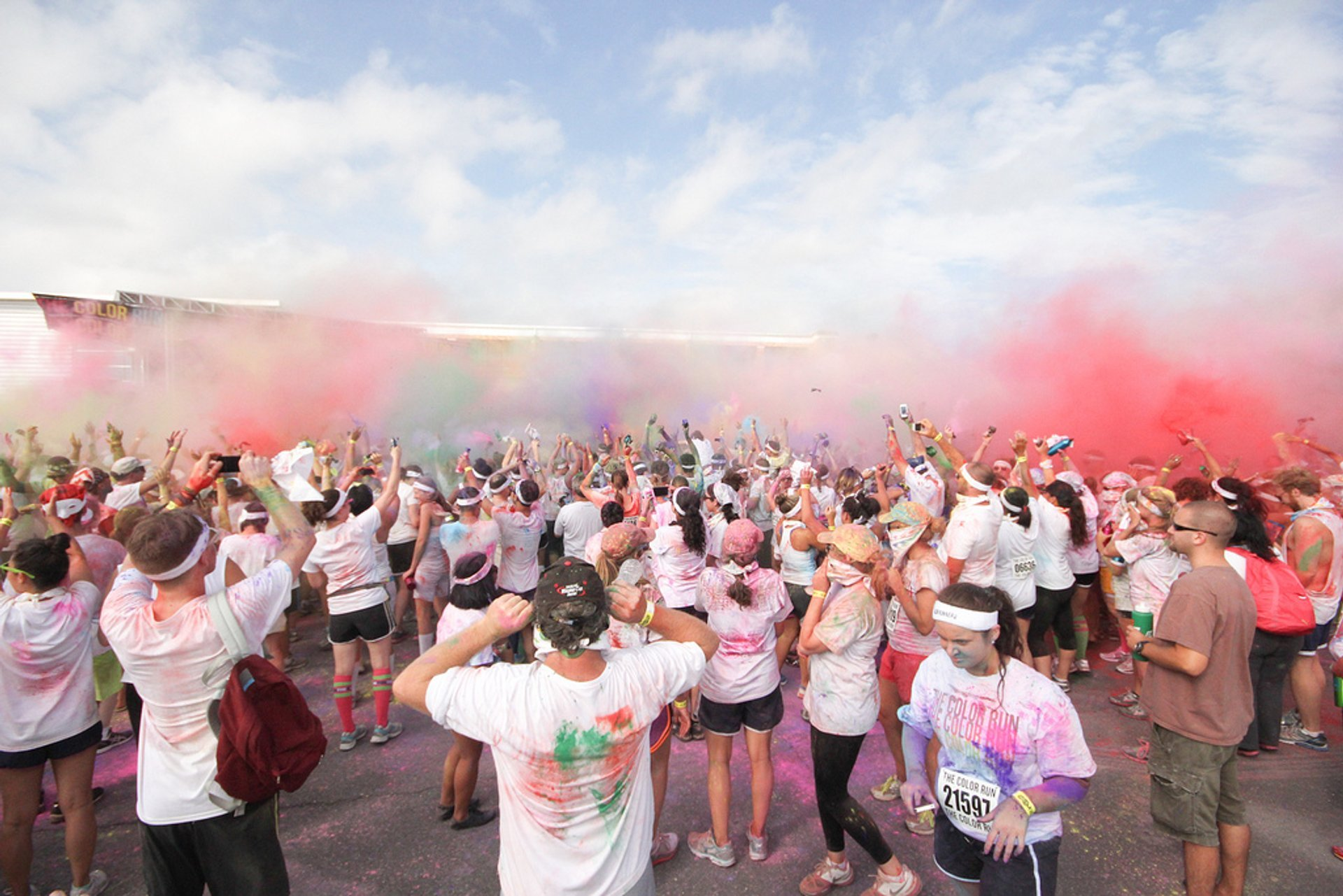 Best time to see The Color Run in New York 2020