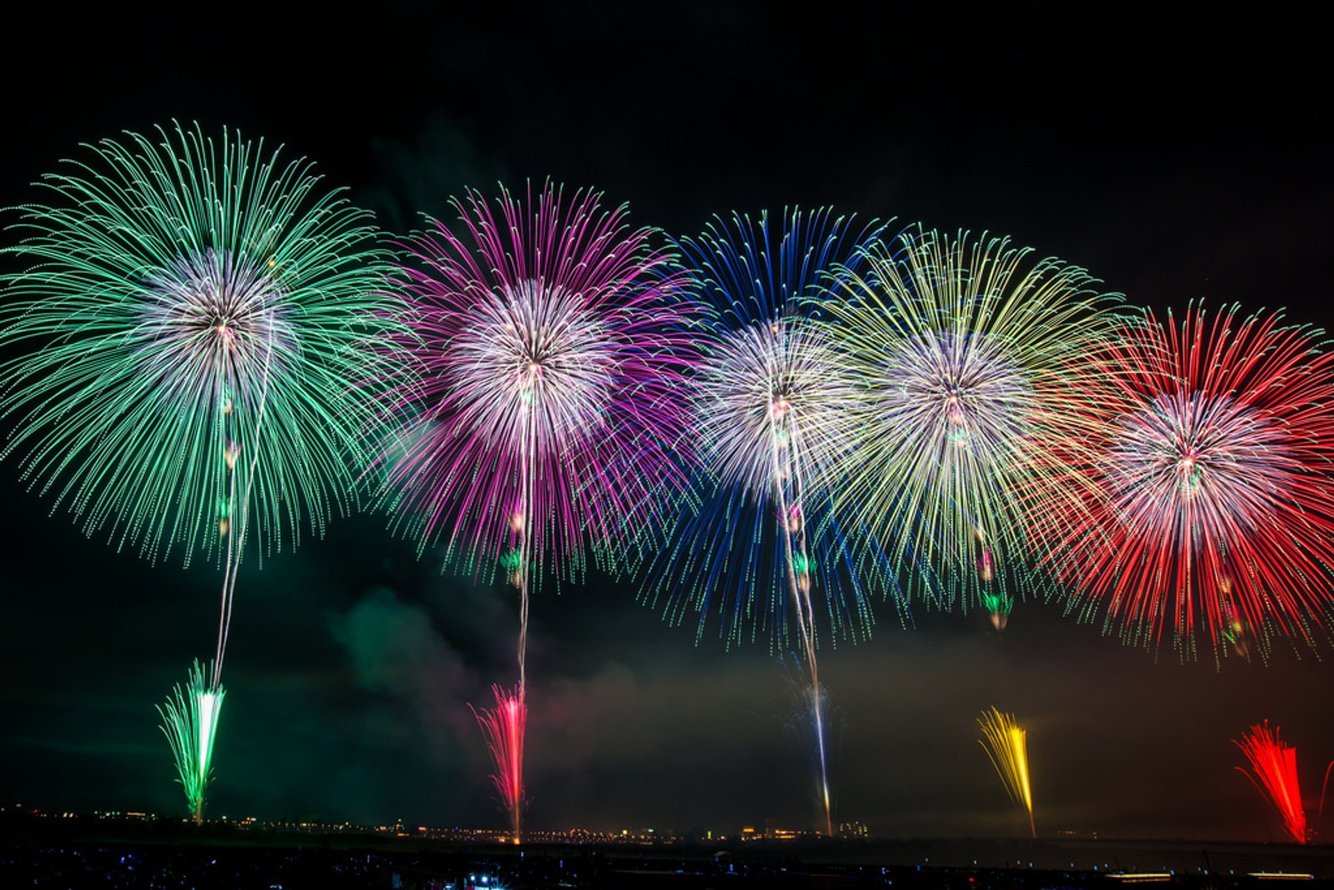Best time for Nagaoka Fireworks Festival in Japan 2019