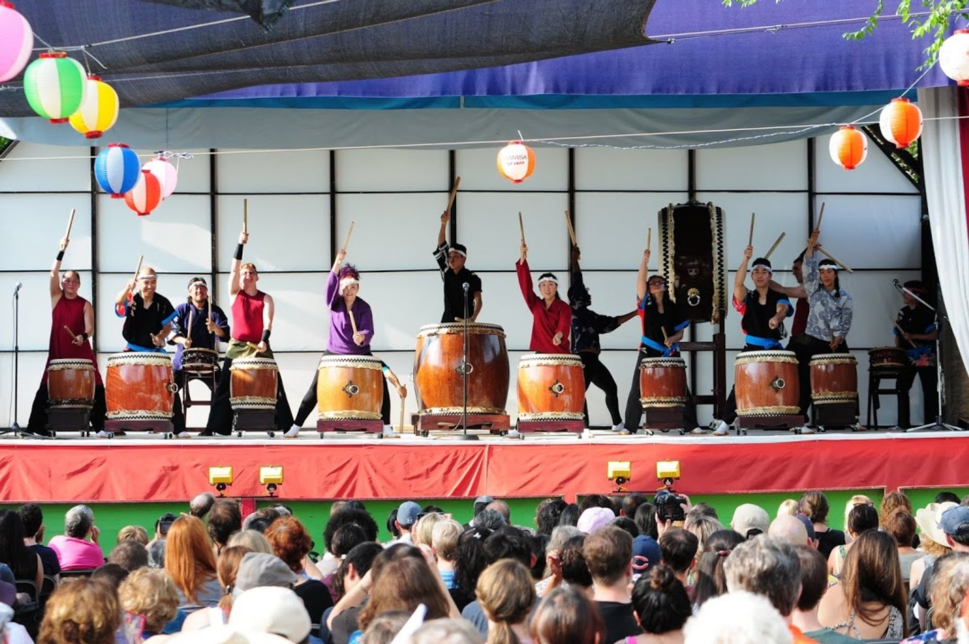 Taiko drummers 2020