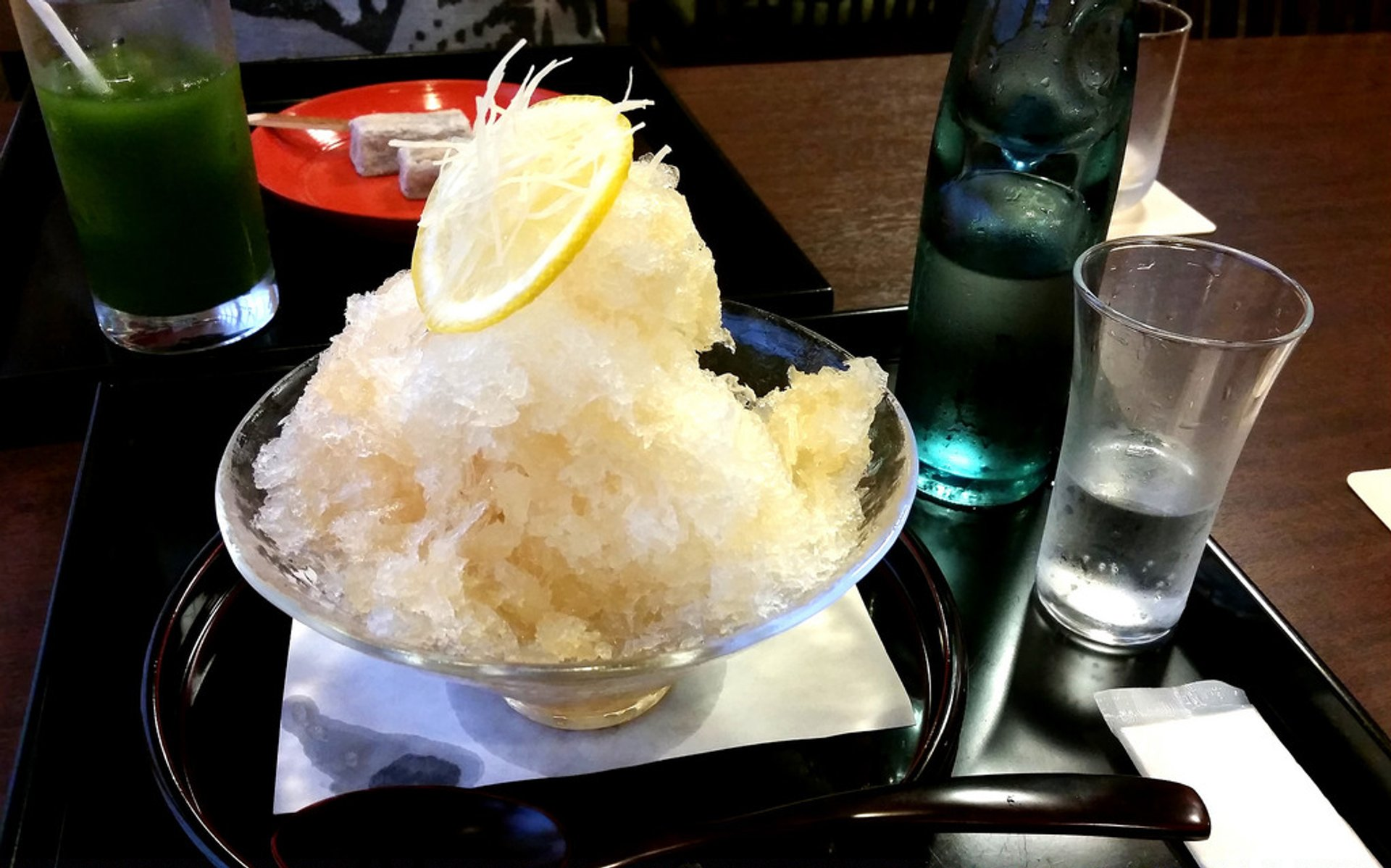 Best time for Kakigori or Shaved Ice in Japan 2020