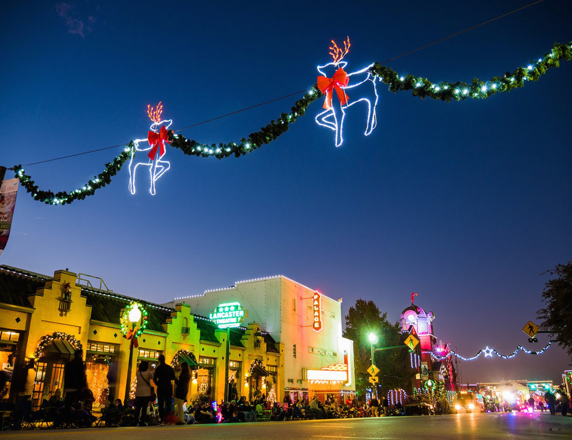 Best time for Grapevine Parade of Lights 2020