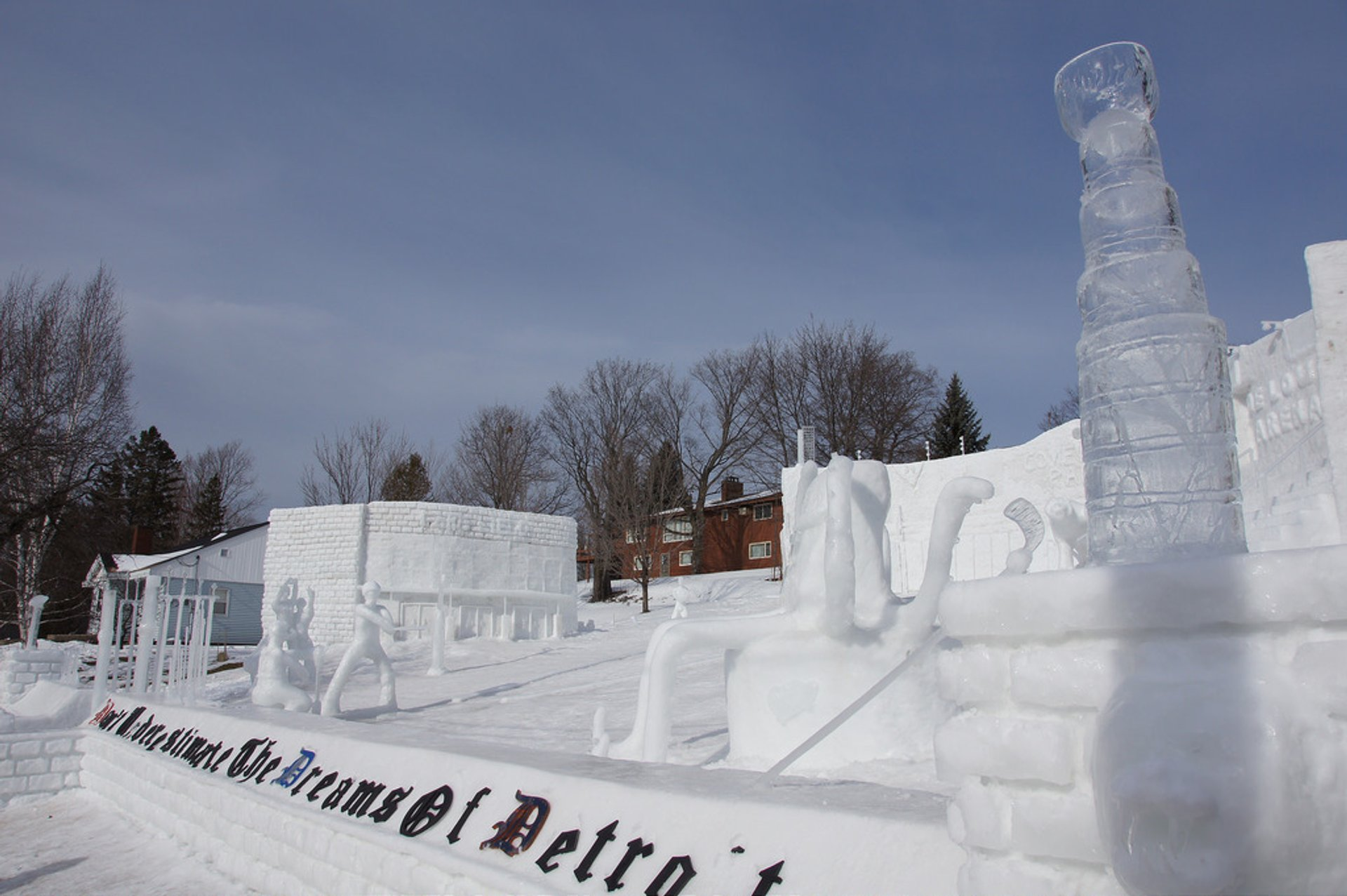 Best time to see MTU Winter Carnival in Midwest 2020