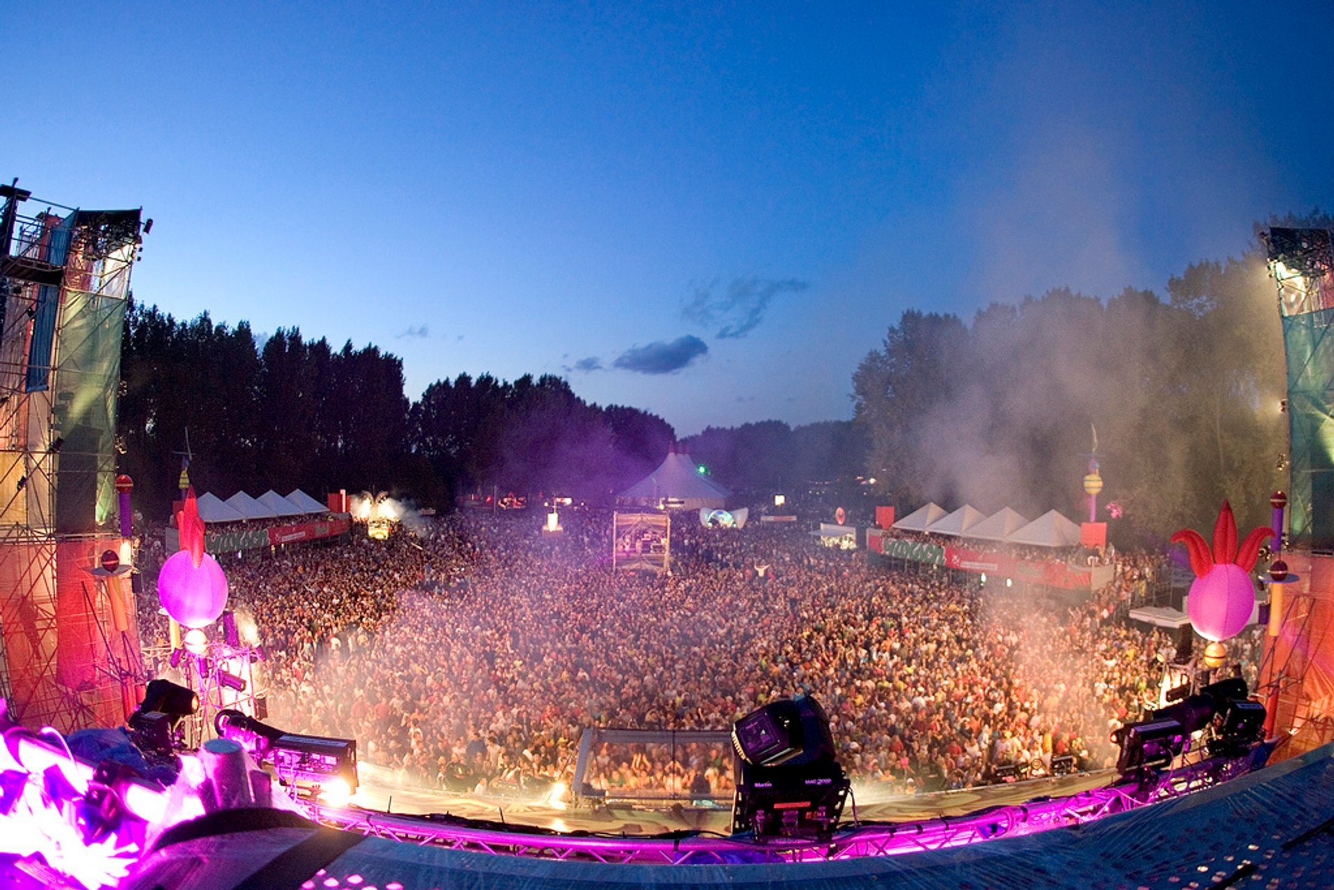 Best time for Mysteryland 2020
