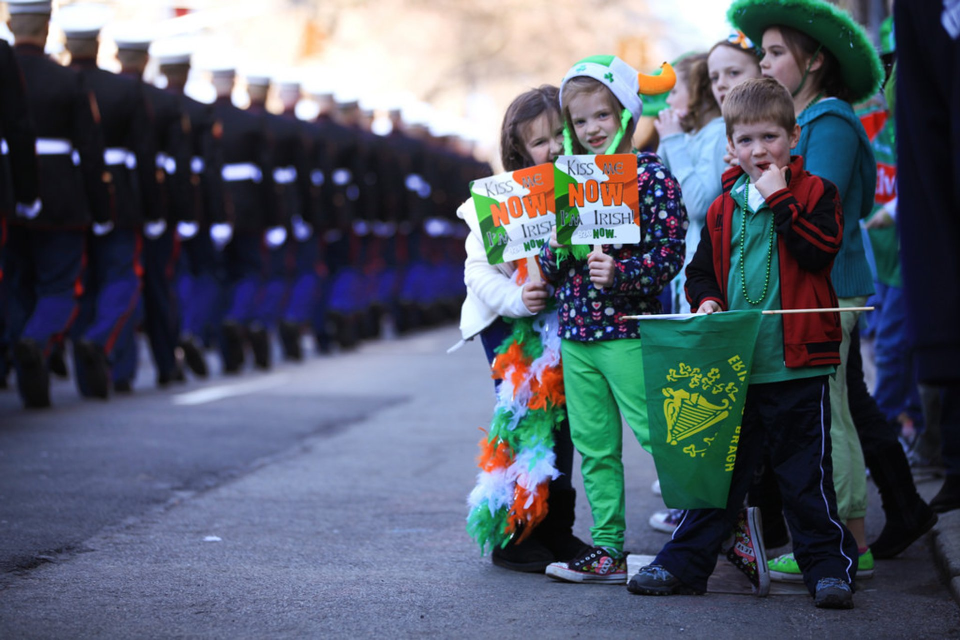 Best time for St. Patrick's Day Parade in New York 2020
