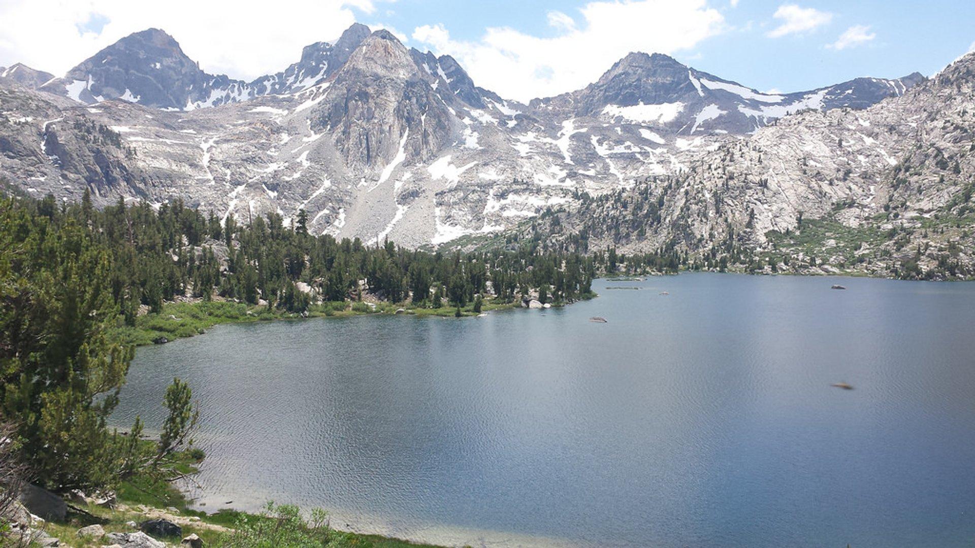 Best time for Rae Lakes Loop in California
