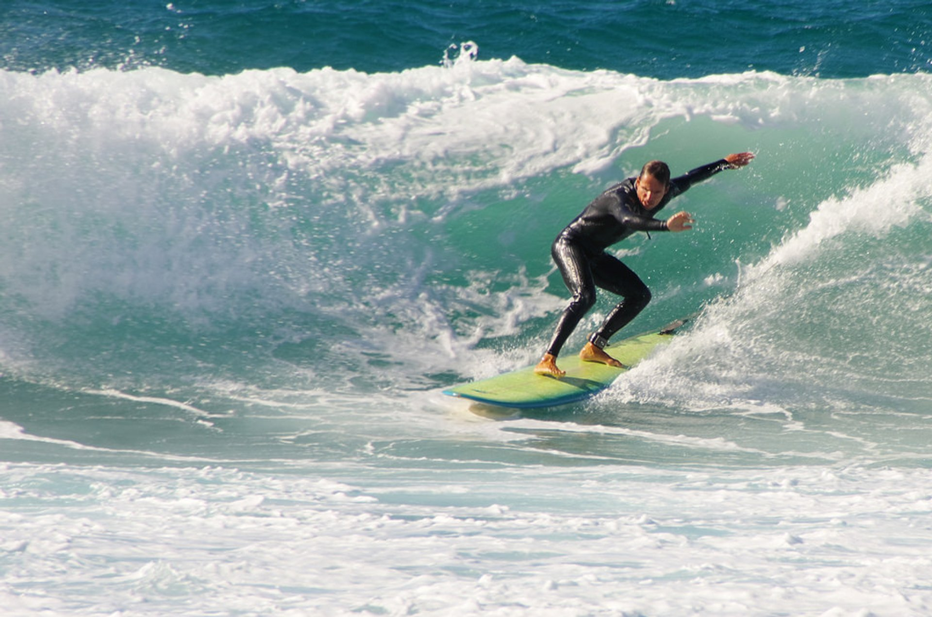 Surfing in Corsica - Best Time