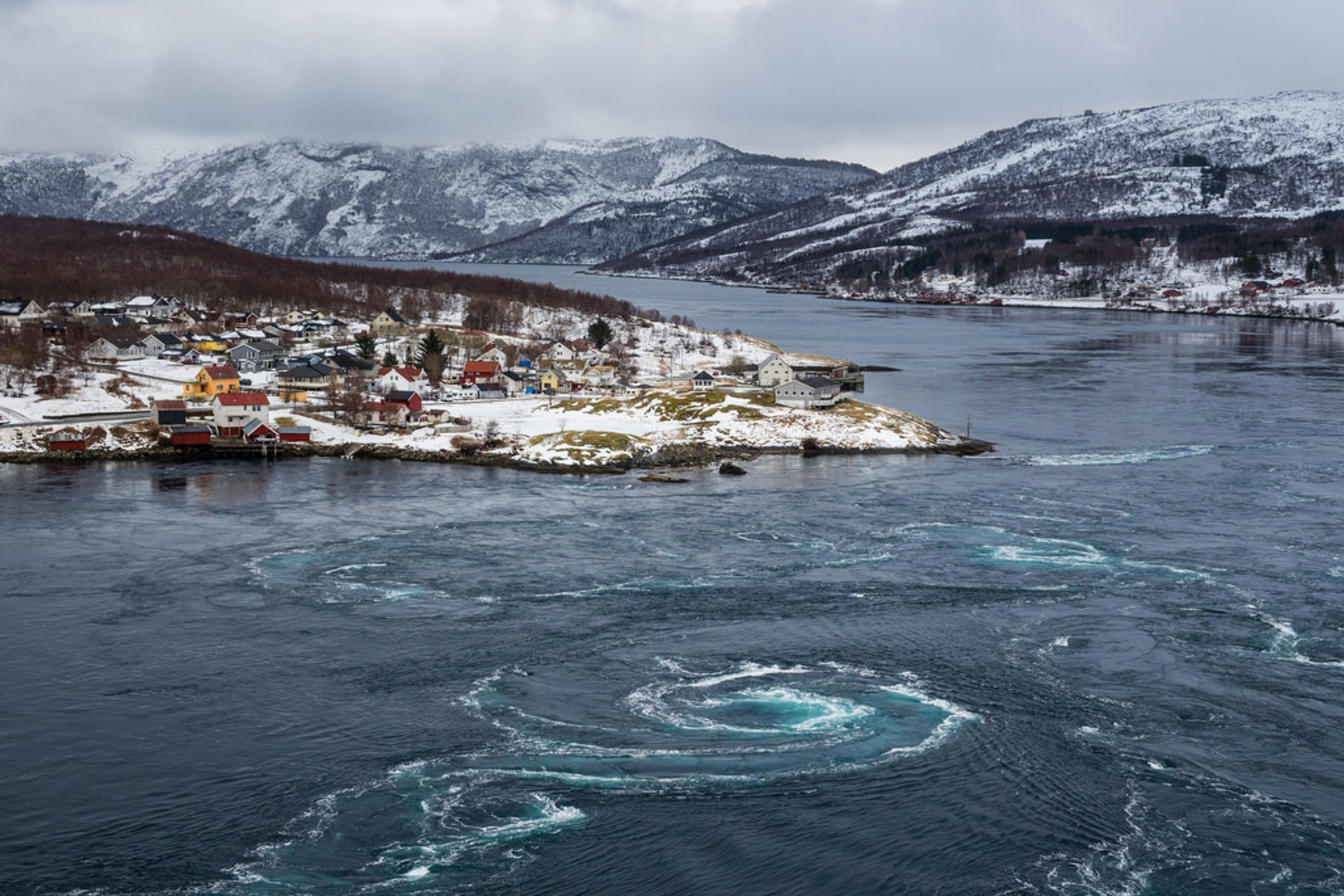 Best time for Saltstraumen Maelstrom in Norway 2020