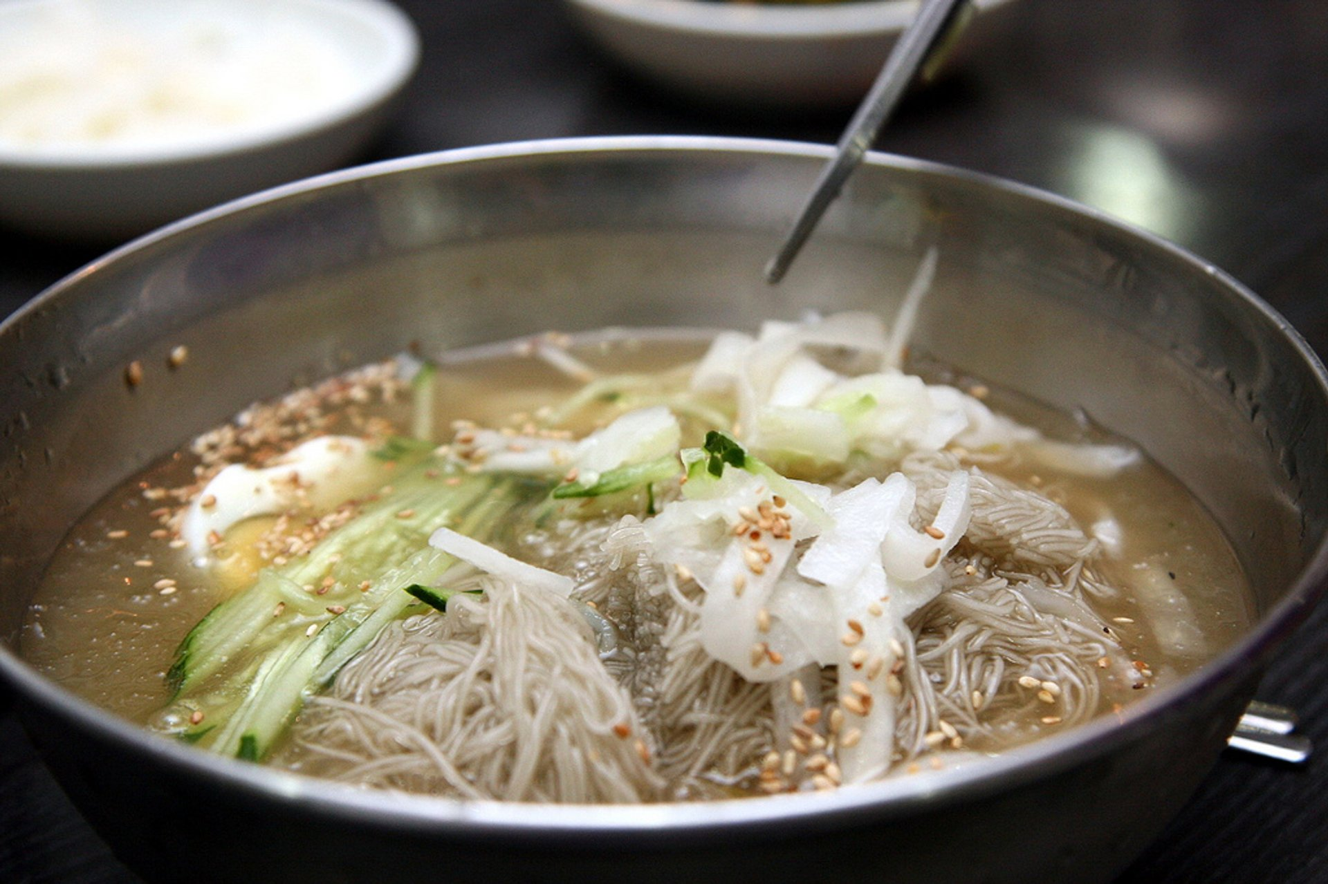 Cold Naengmyeon Noodles on the Coldest Day in South Korea - Best Season 2020