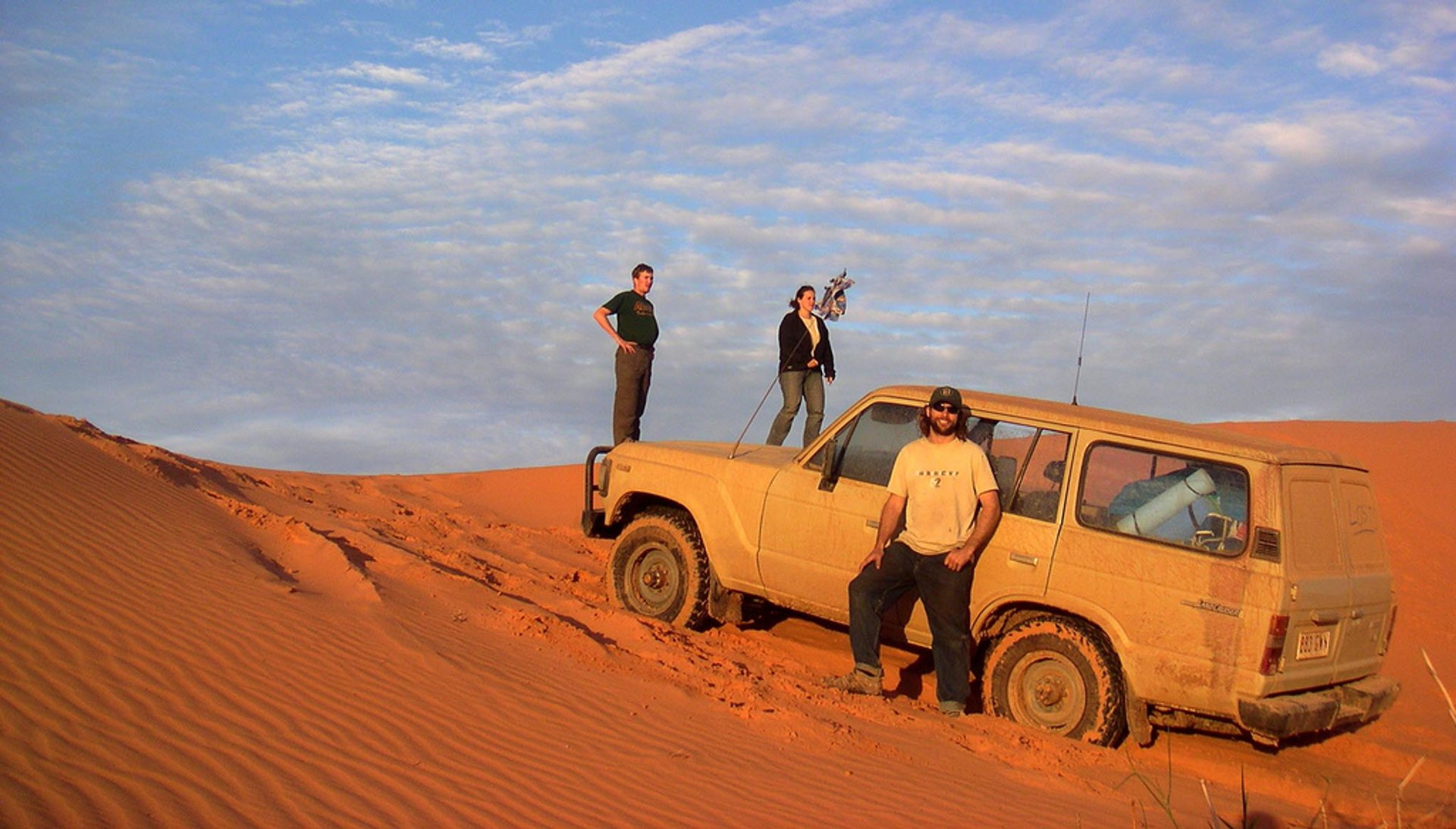 Three-day drive over the sand dunes 2020