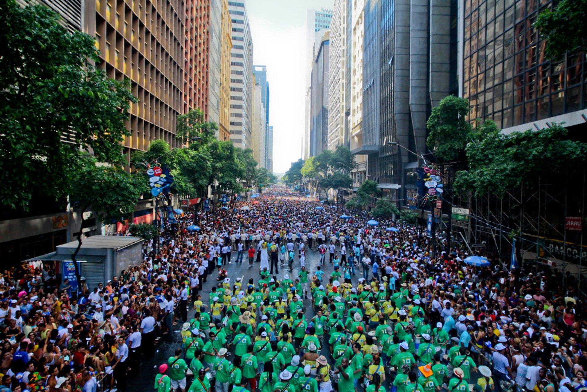 Blocos in Rio de Janeiro 2019 - Best Time