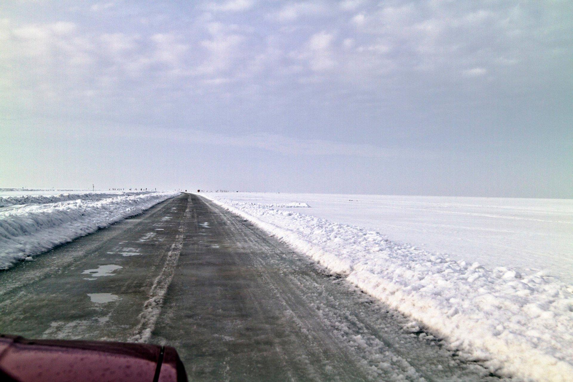 Ice Roads in Estonia - Best Season 2019