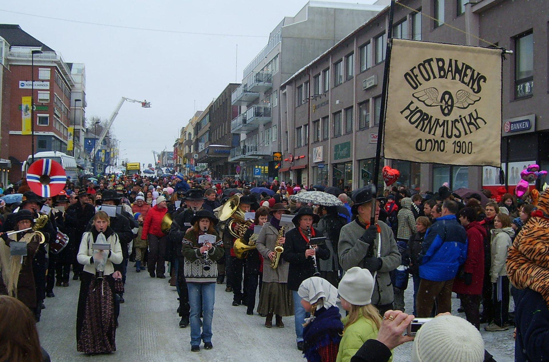 Narvik Winter Festival or Vinterfestuka in Norway 2020 - Best Time
