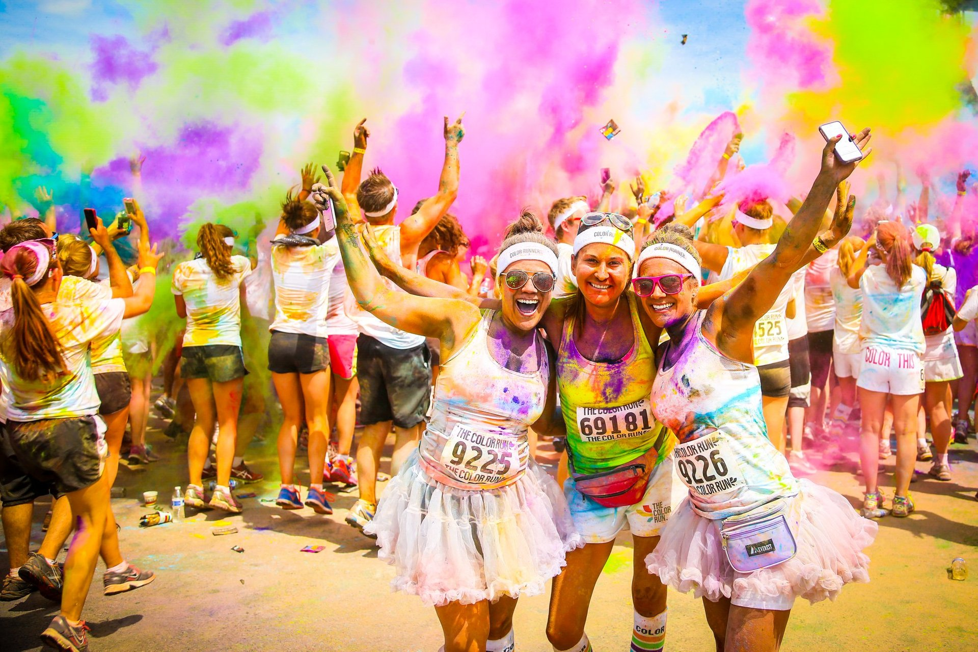 Best time for The Color Run 2020