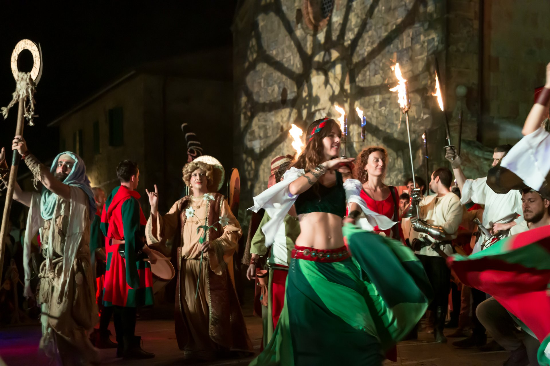Best time to see Medieval Festival Monteriggioni 2020
