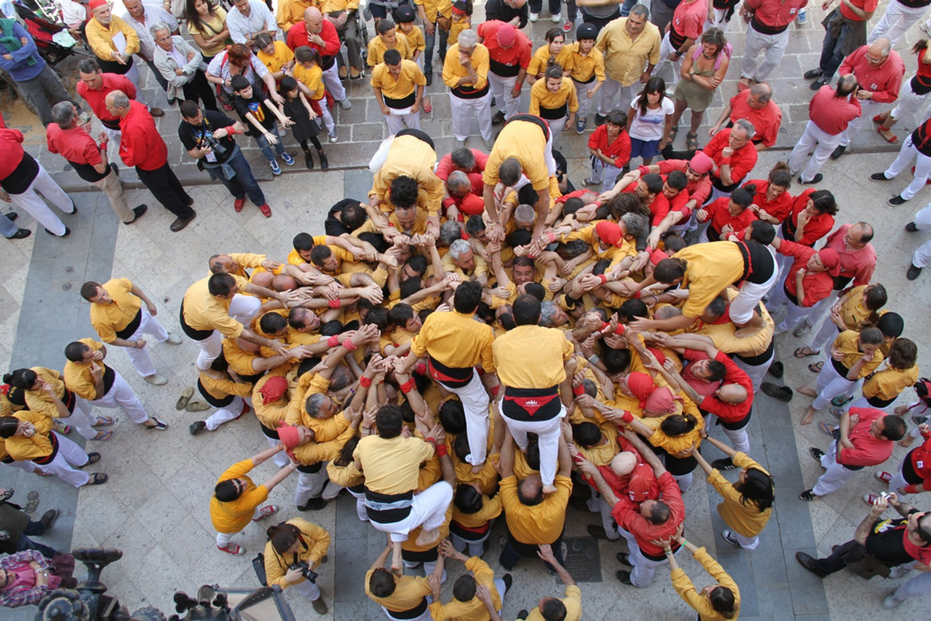 Castells or Human Towers in Barcelona 2020 - Best Time