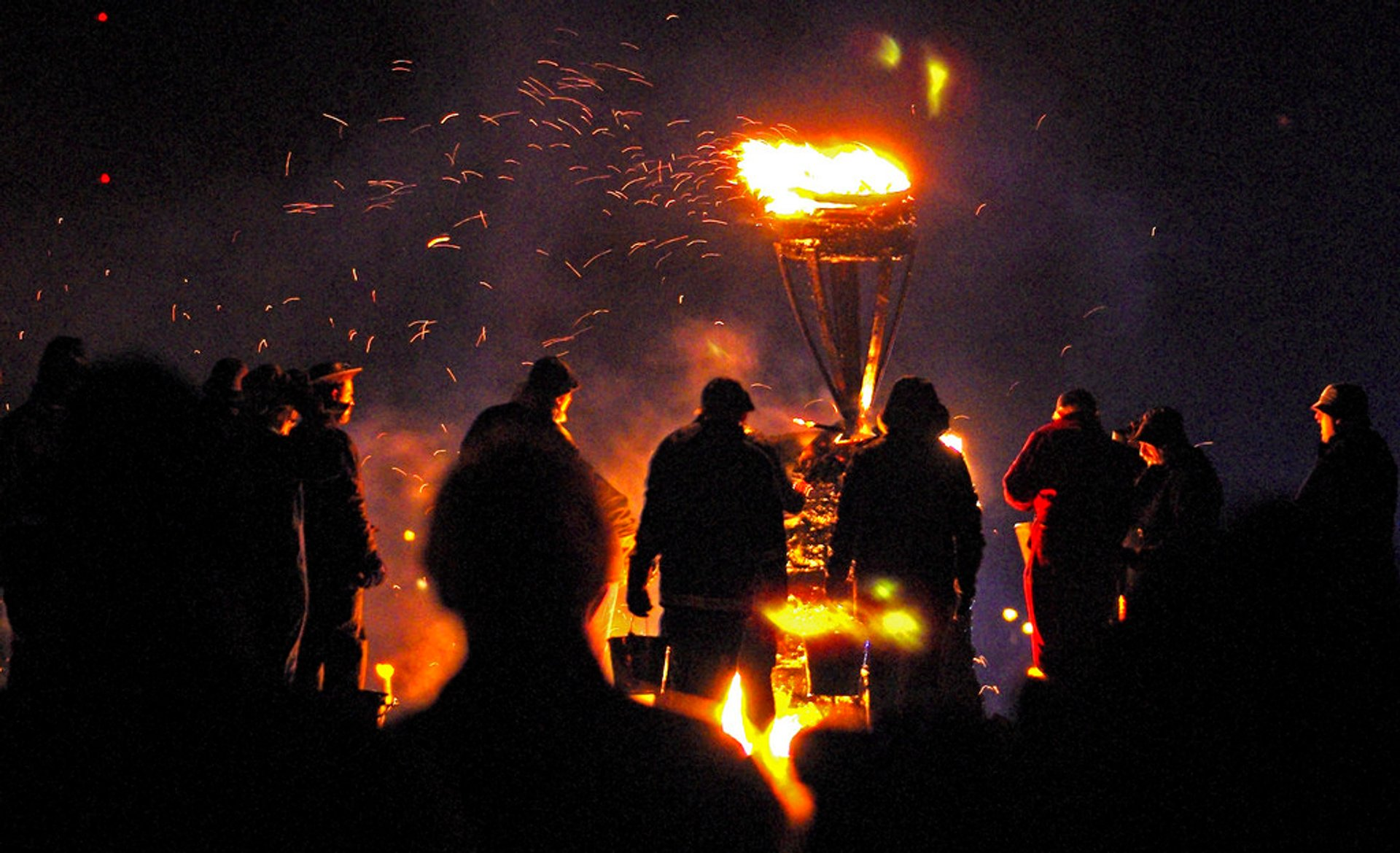 Burning of the Clavie in Scotland 2019 - Best Time