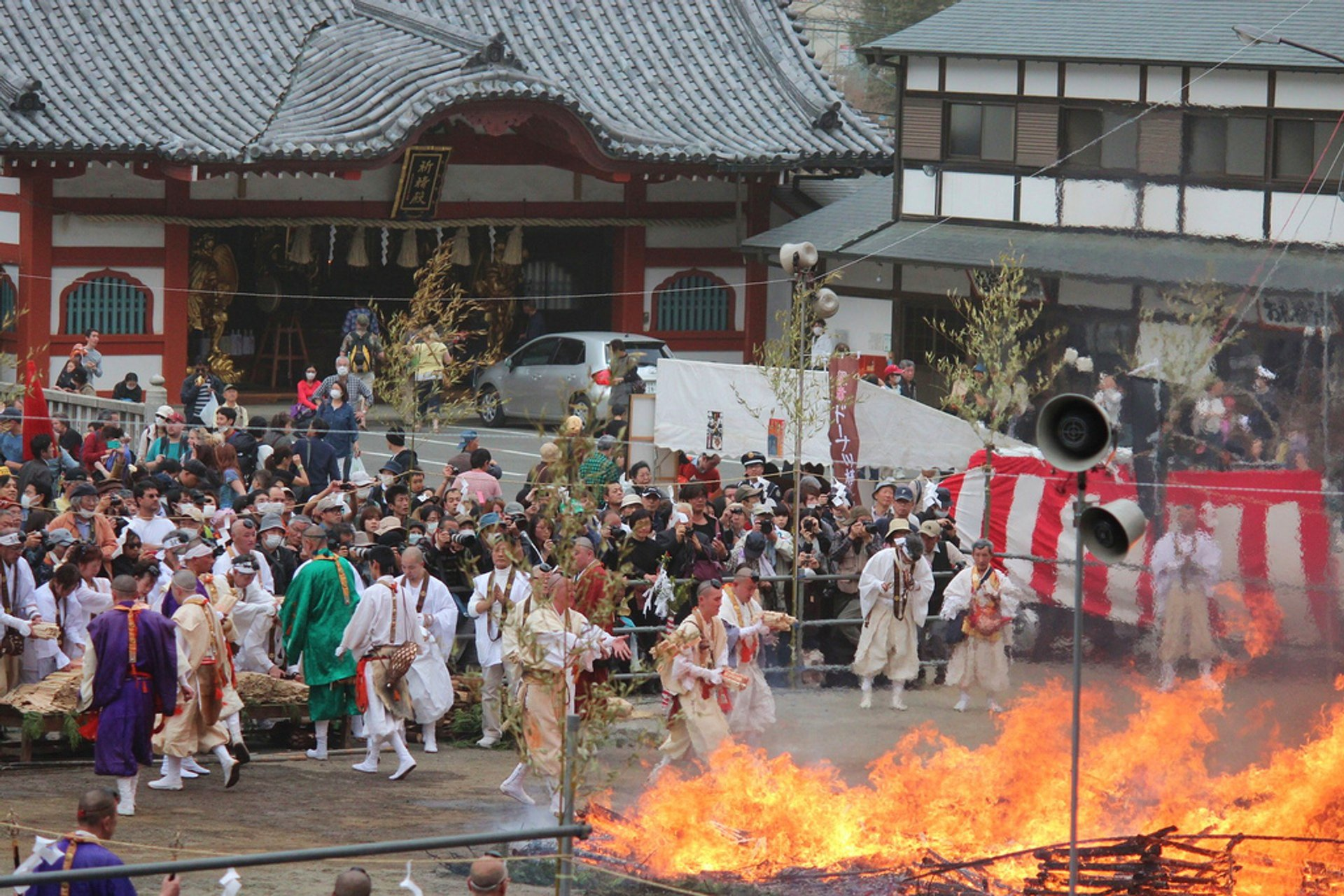 Best time for Mt. Takao Hiwatari-sai Festival in Tokyo 2020