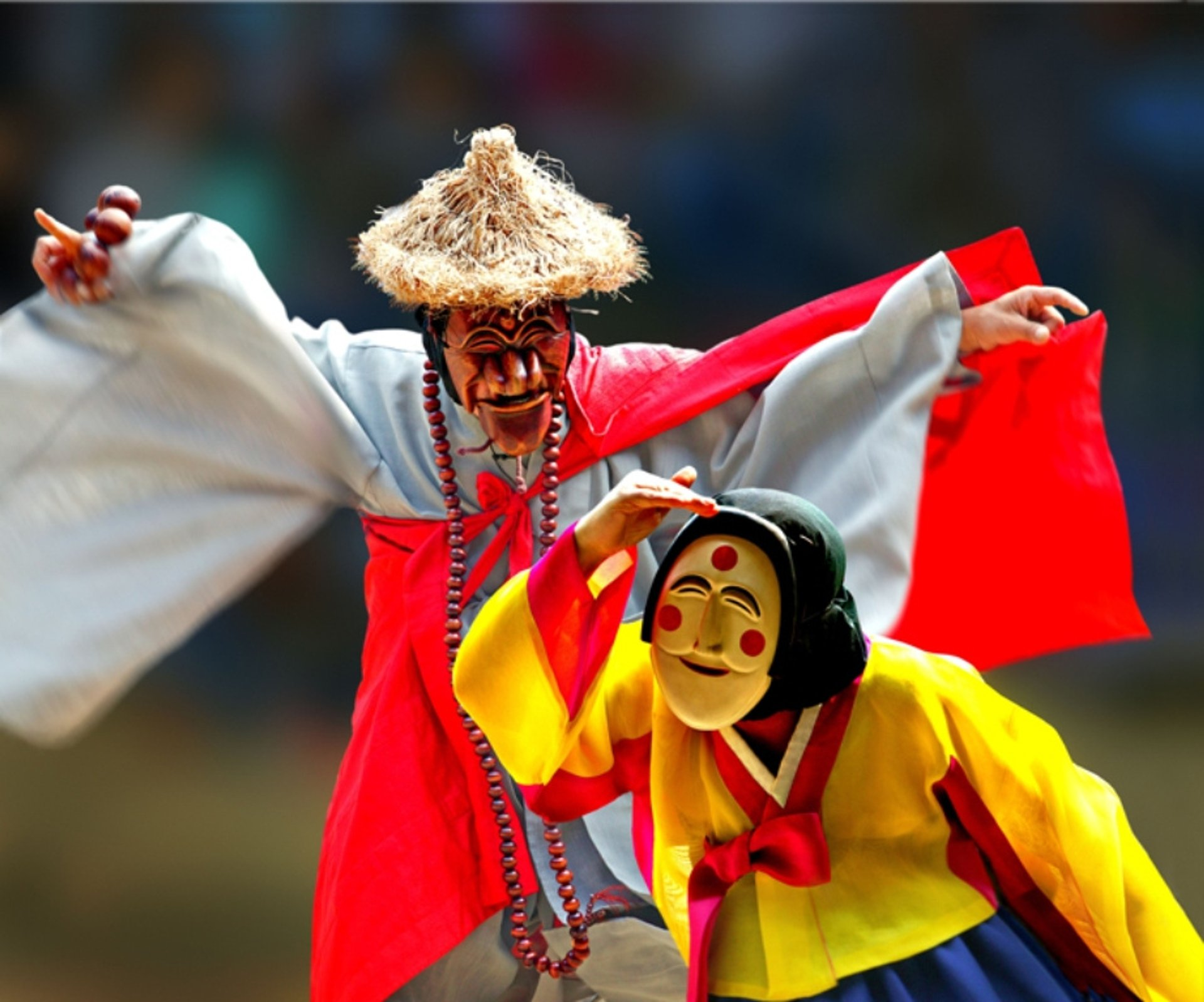 Best time to see Andong Mask Dance Festival in South Korea 2020