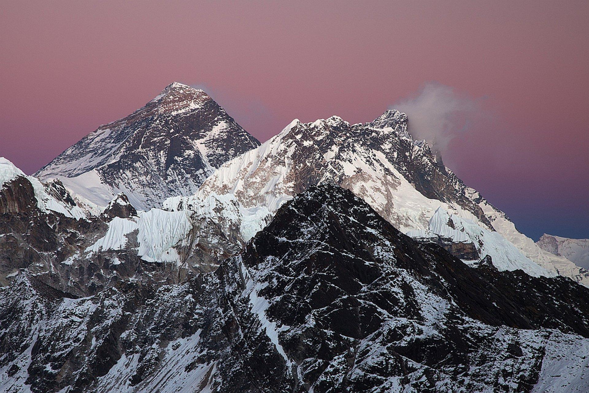 Mt. Everest and Lhotse  2020
