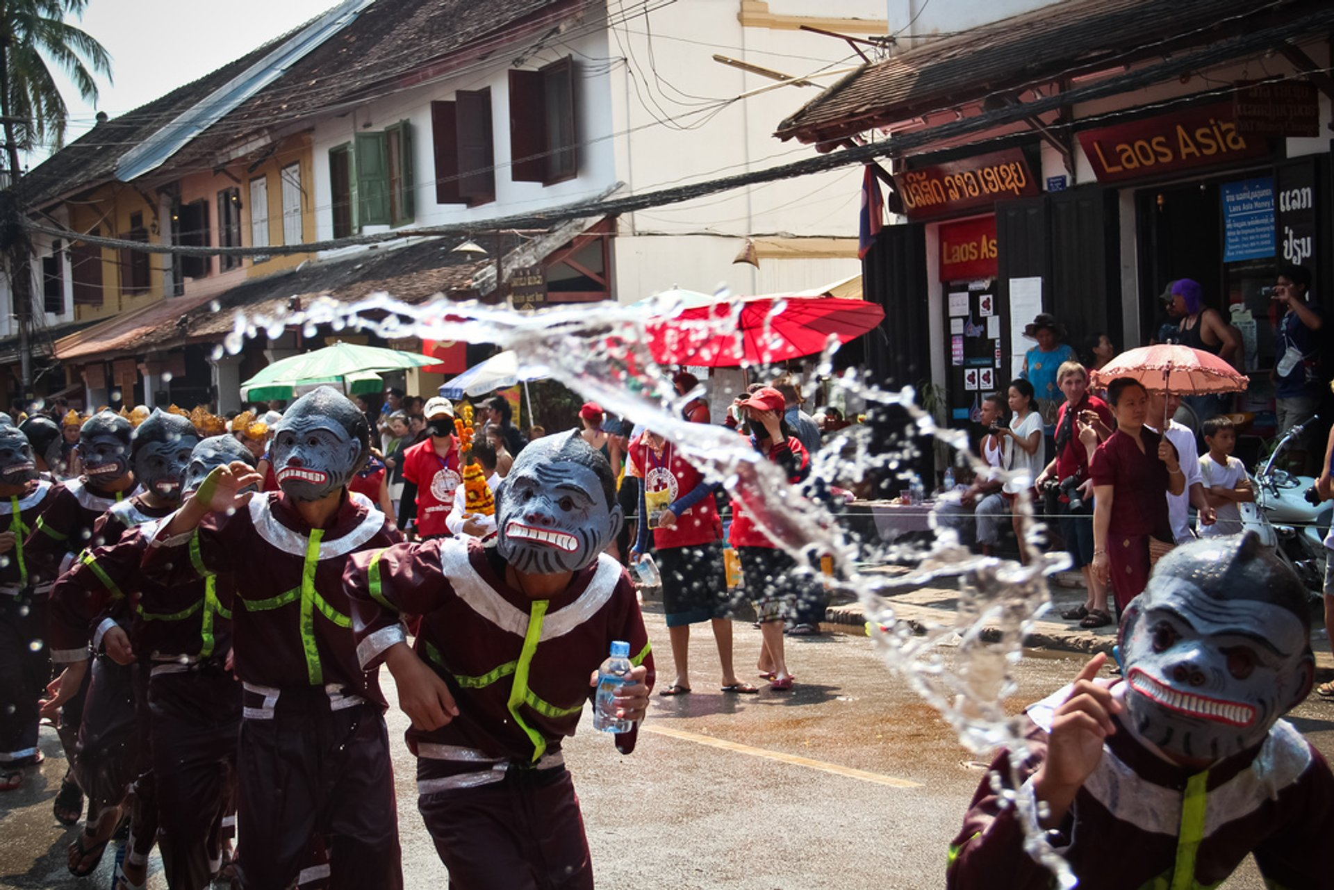 Best time for Pi Mai Lao or Songkran—Lao New Year & Water Festival in Laos 2020