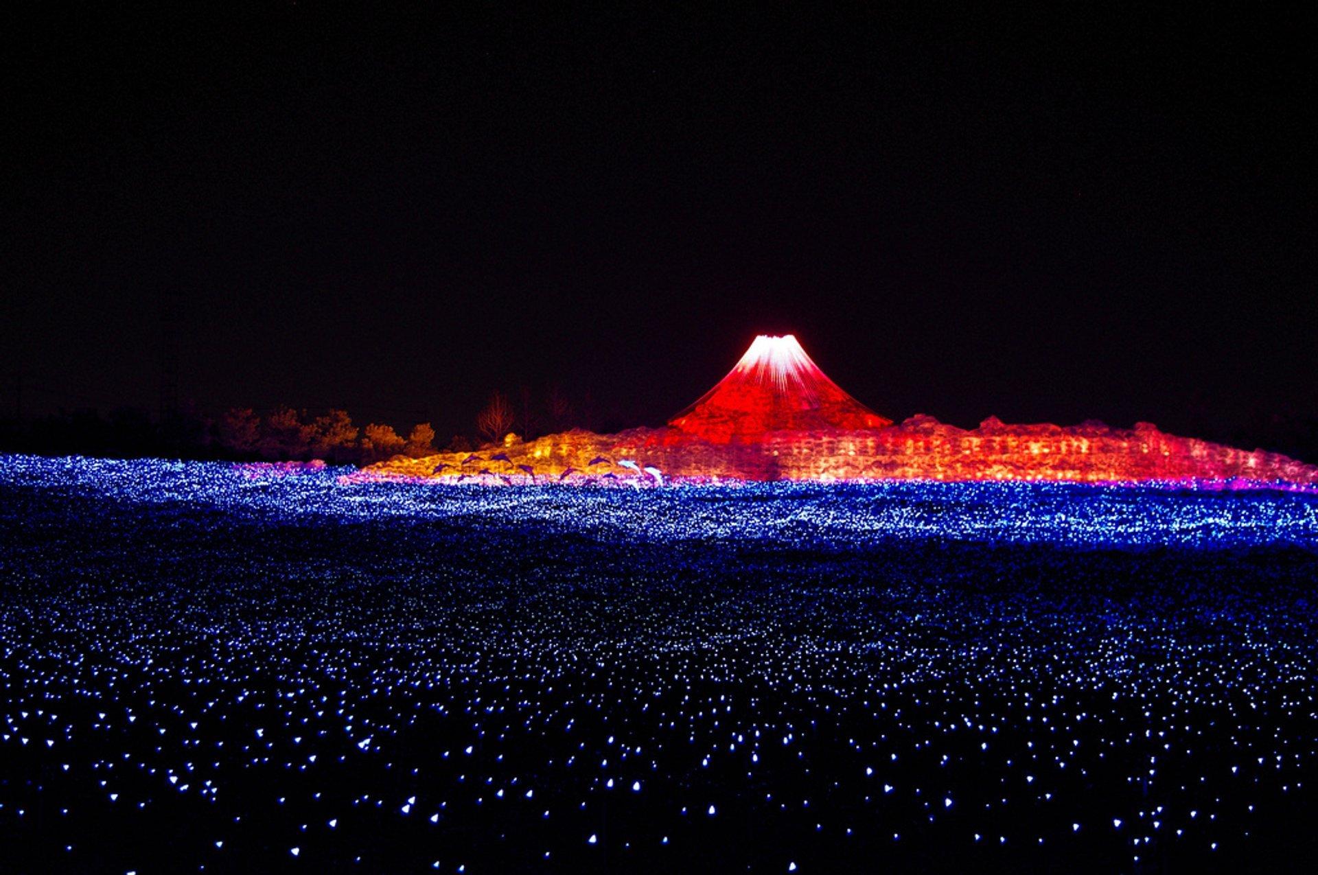 Nabana No Sato Winter Illumination in Japan - Best Time