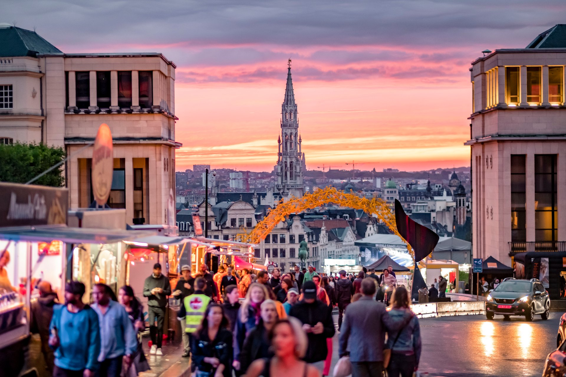 Best time to see Brussels Summer Festival 2020