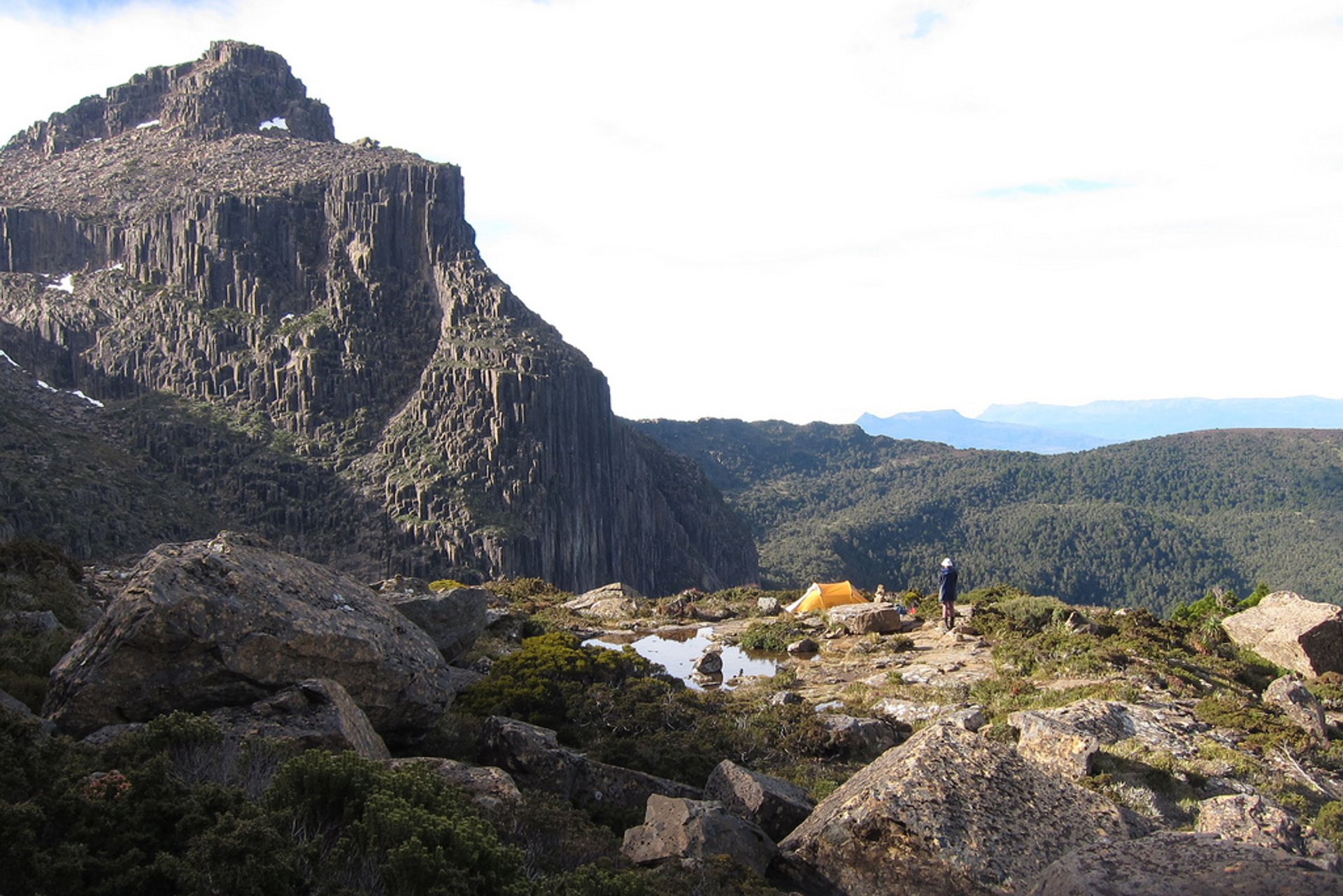 Mt Anne Circuit—a rather demanding 3-day circuit with a strenuous climb up to get to the Mt Eliza alpine zone. You will encounter a challenging traverse and boggy terrain, so make sure you are well-prepared! 2020