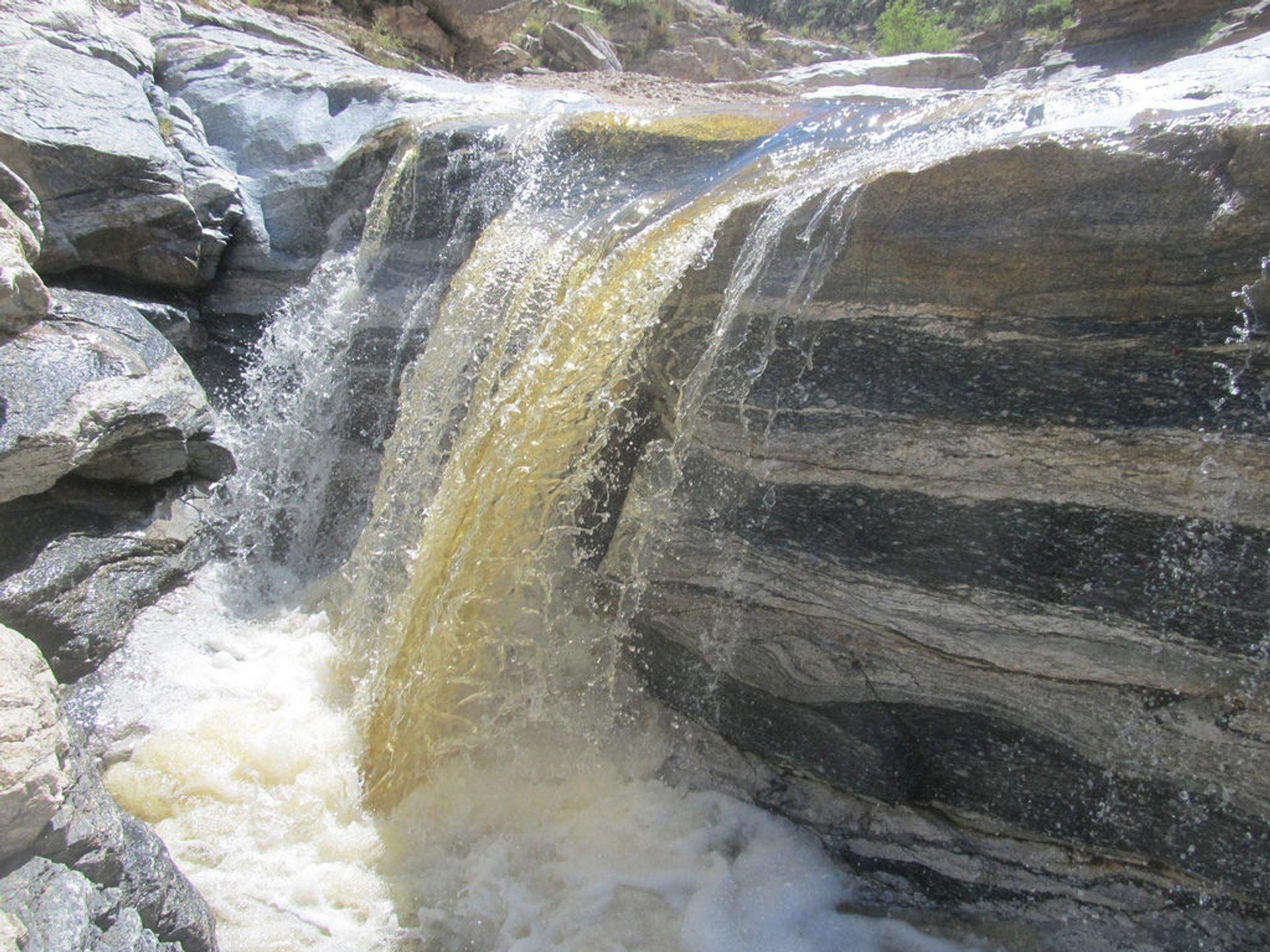 Upper Tanque Verde Falls 2020
