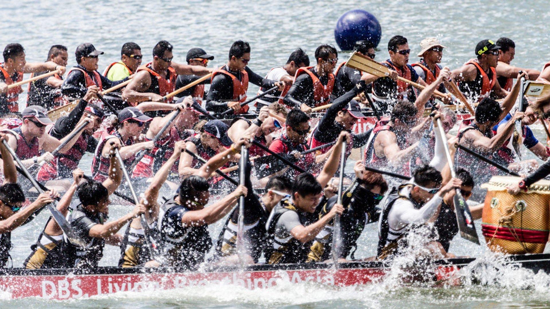 Dragon Boat Festival at Marina Bay 2019