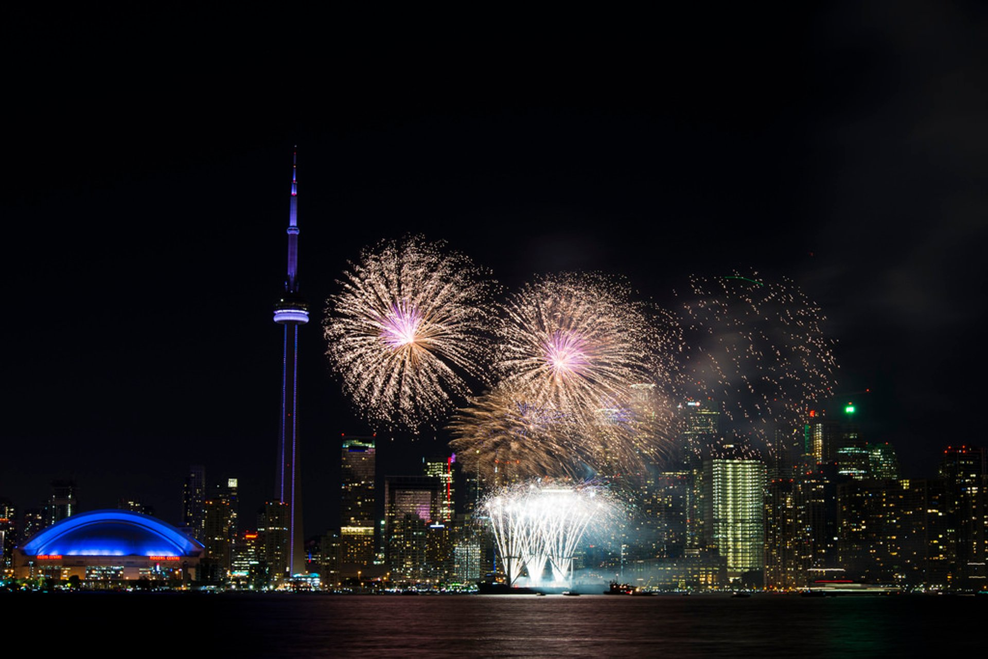 End the day by watching the spectacular Canada Day fireworks finale from Toronto Island 2019