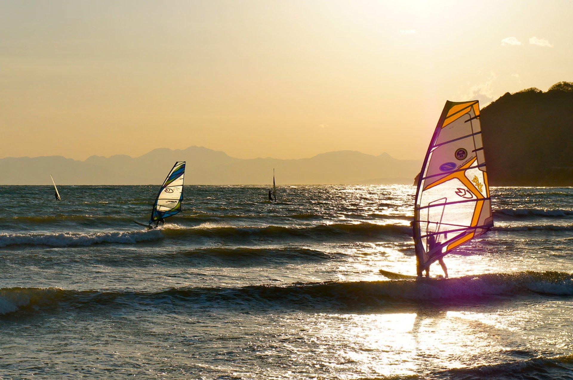 Surfing & Windsurfing in Tokyo 2020 - Best Time
