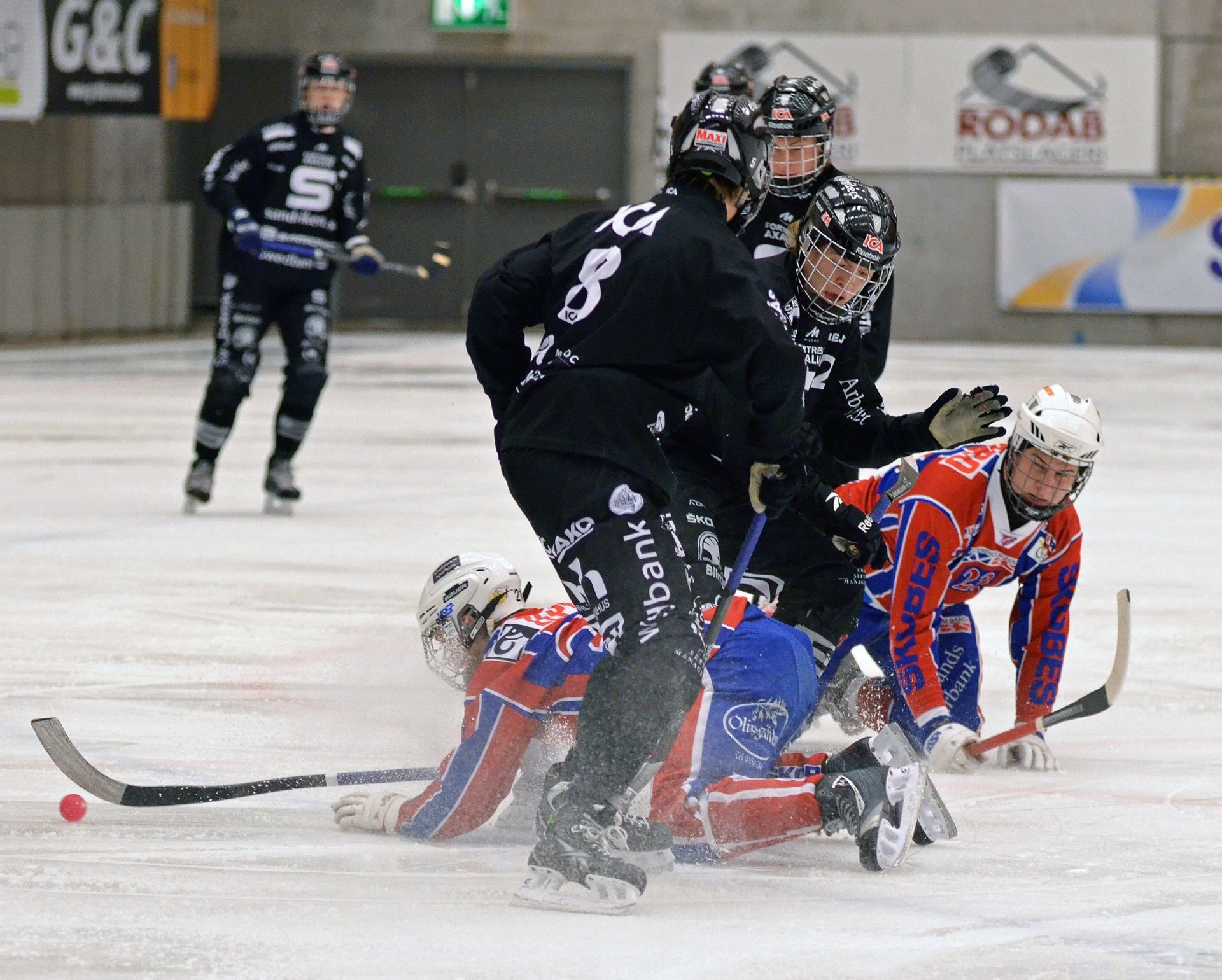 Best time for Swedish Bandy in Sweden 2019