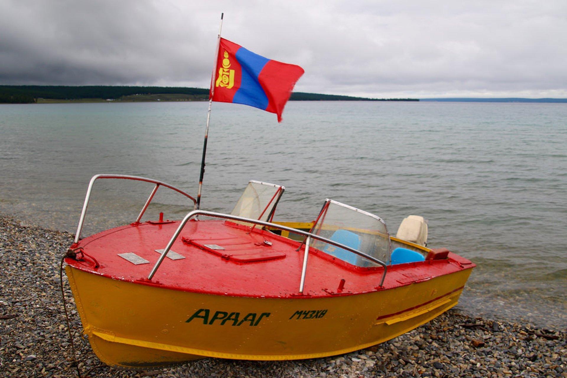 Lake Khovsgol Boat 2019