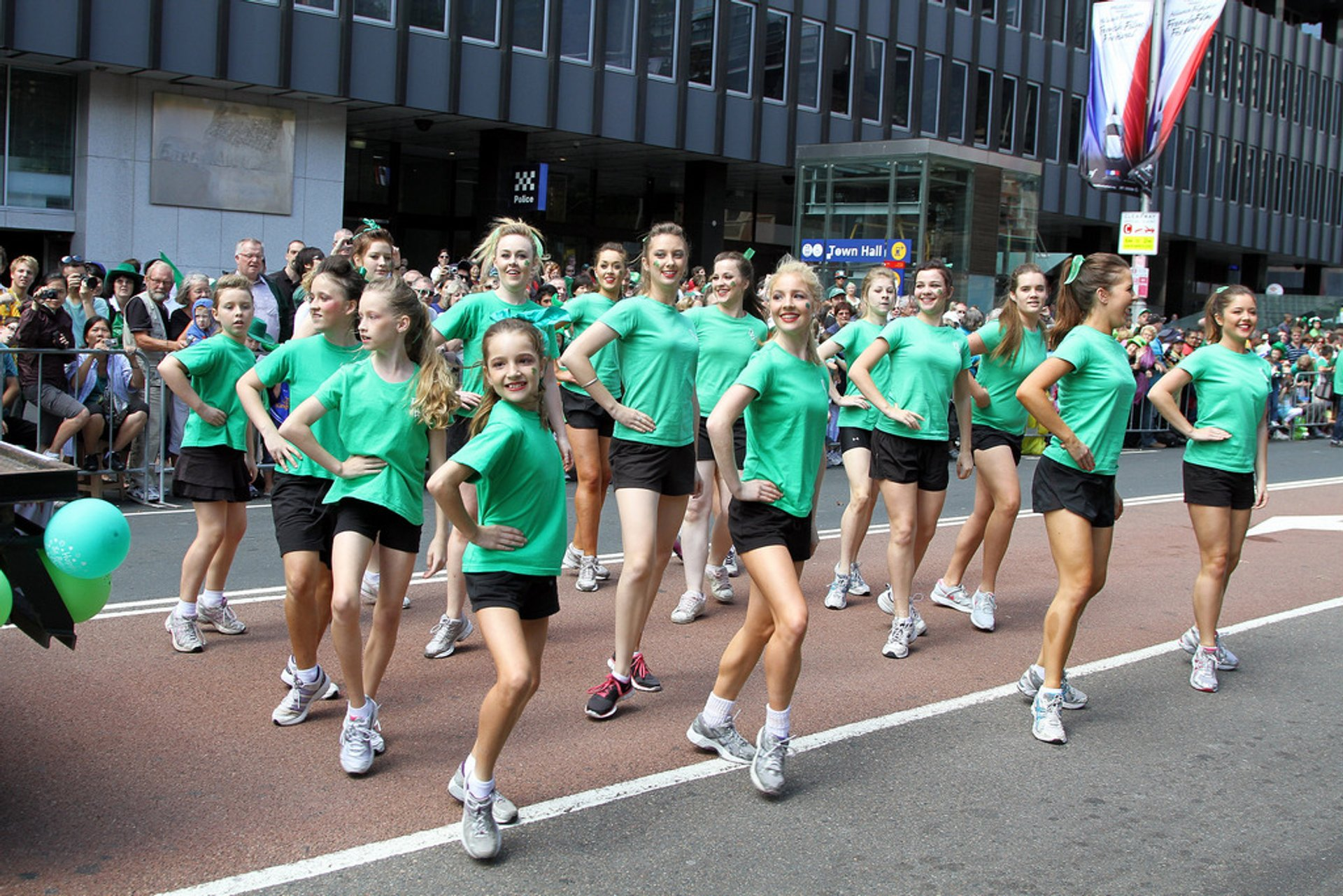 Best time for St. Patrick's Day in Sydney