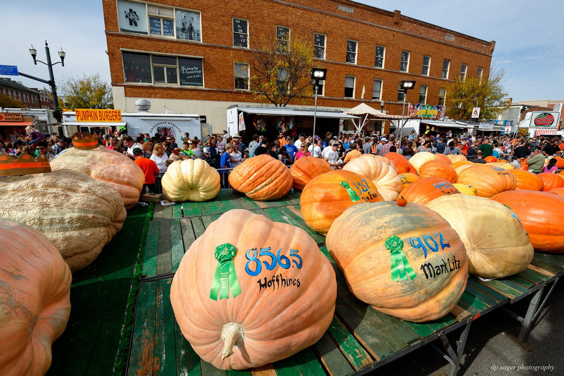 Best time to see Circleville Pumpkin Show in Ohio 2020