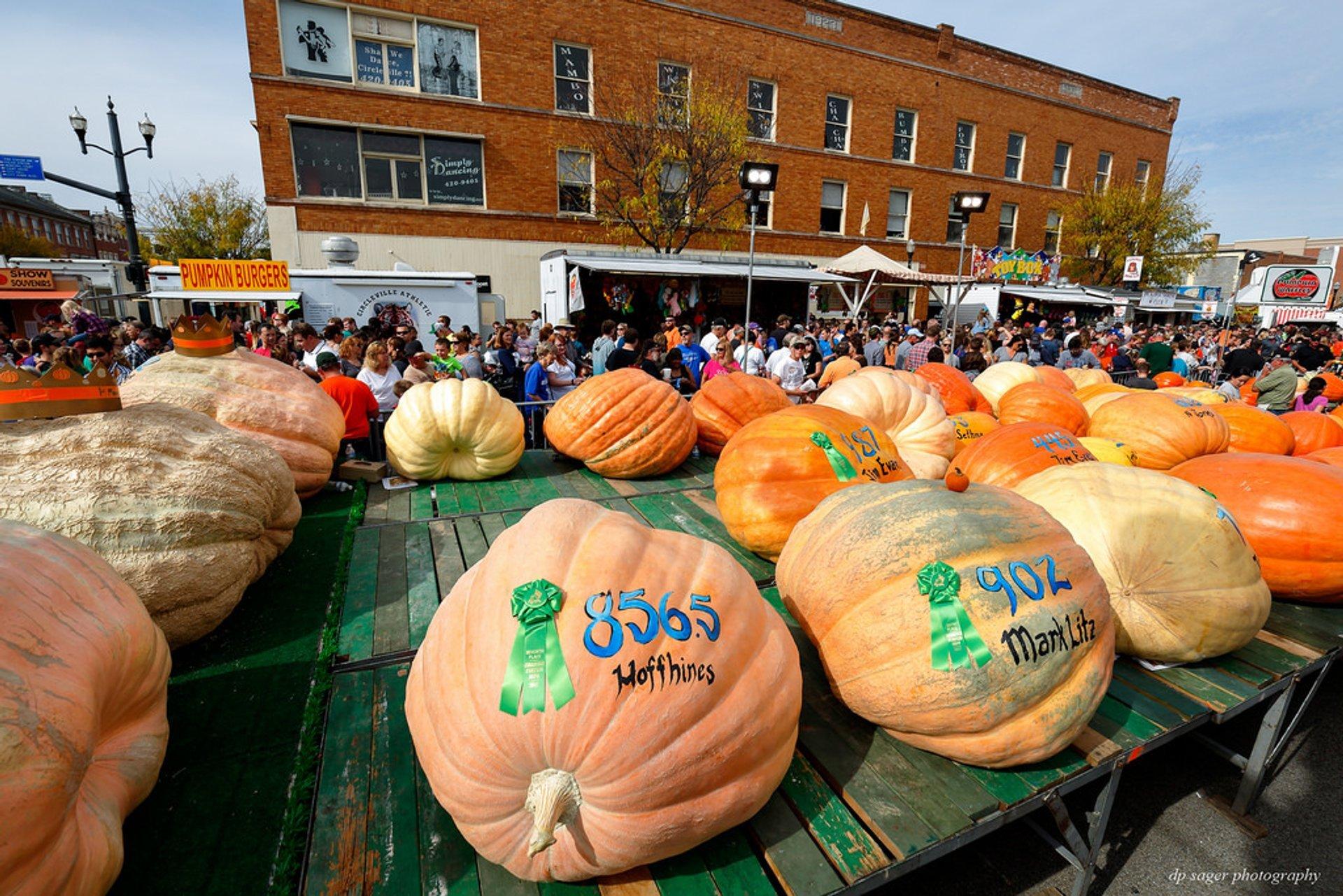 Pumpkin Show 2020.Circleville Pumpkin Show 2019 In Ohio Dates Map