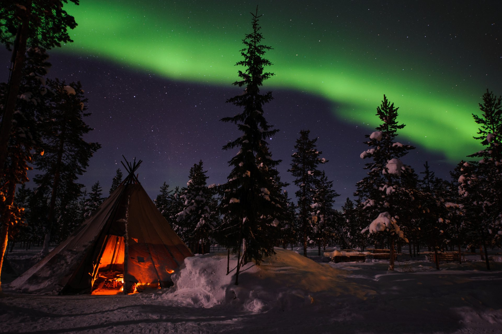 Northern Lights in Sweden 2020 - Best Time
